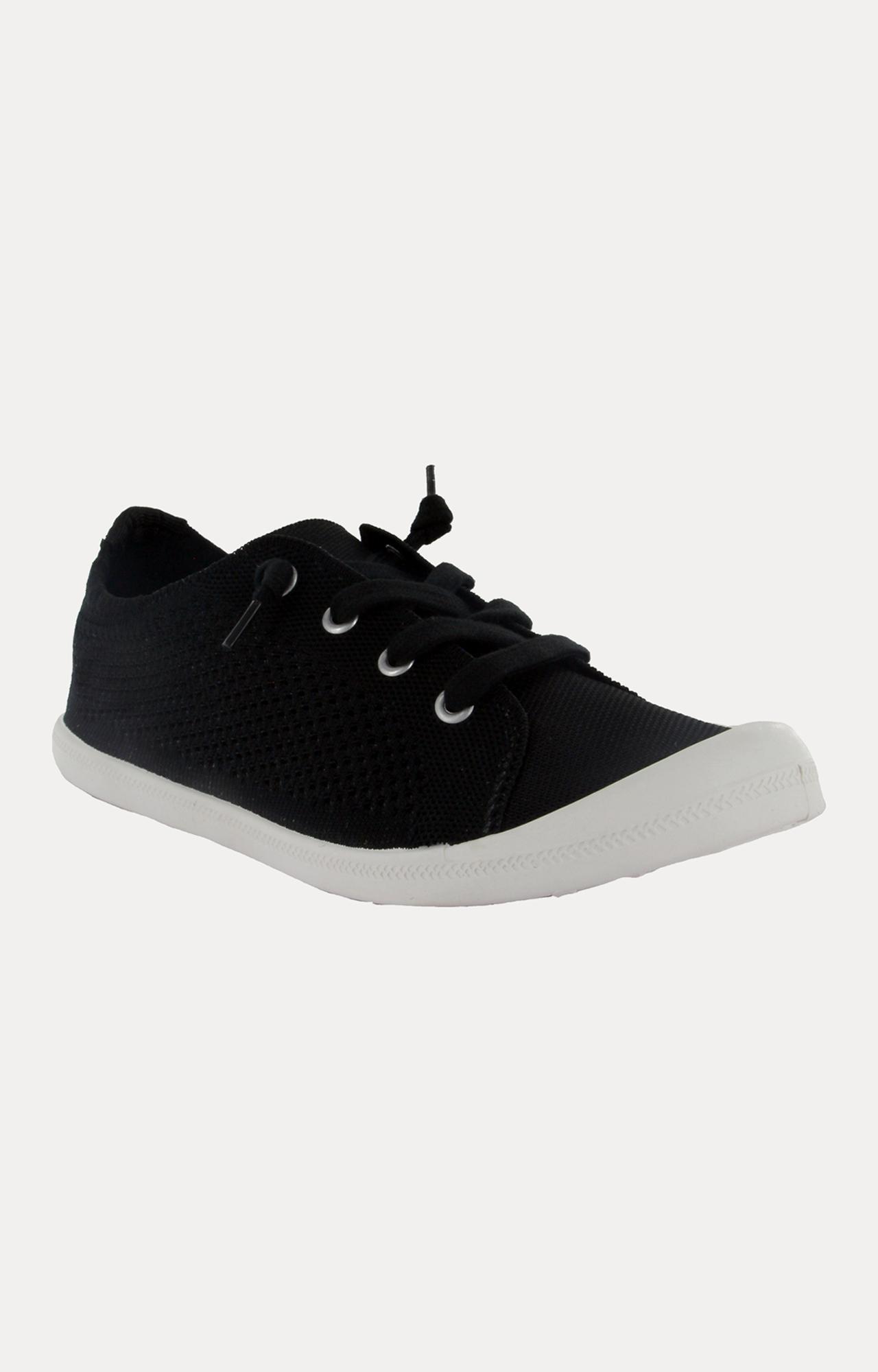 STEVE MADDEN   Black Sneakers