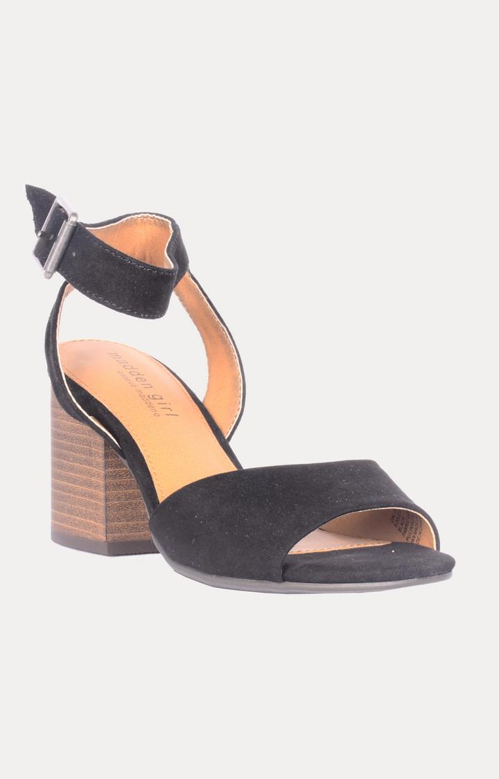 STEVE MADDEN | Black Block Heels