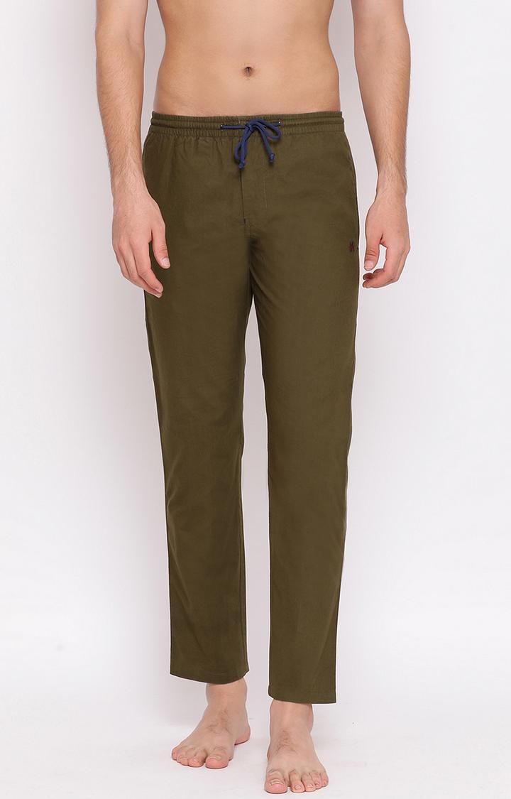 Crimsoune Club | Brown Solid Trackpants