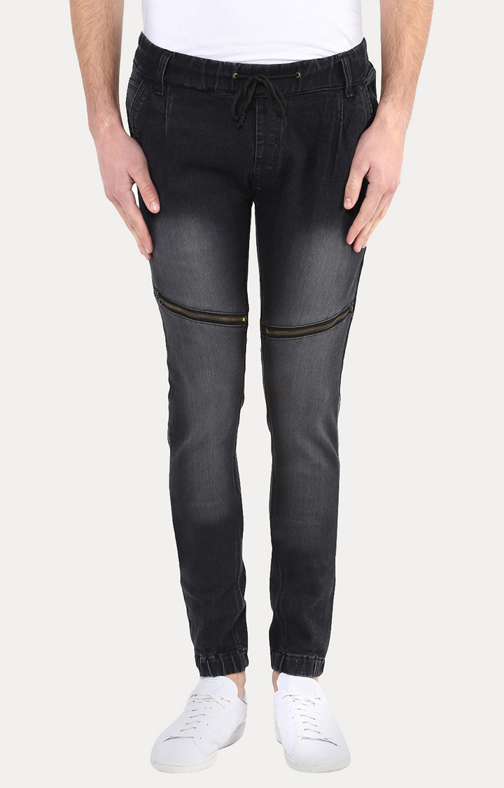Charcoal Solid Joggers