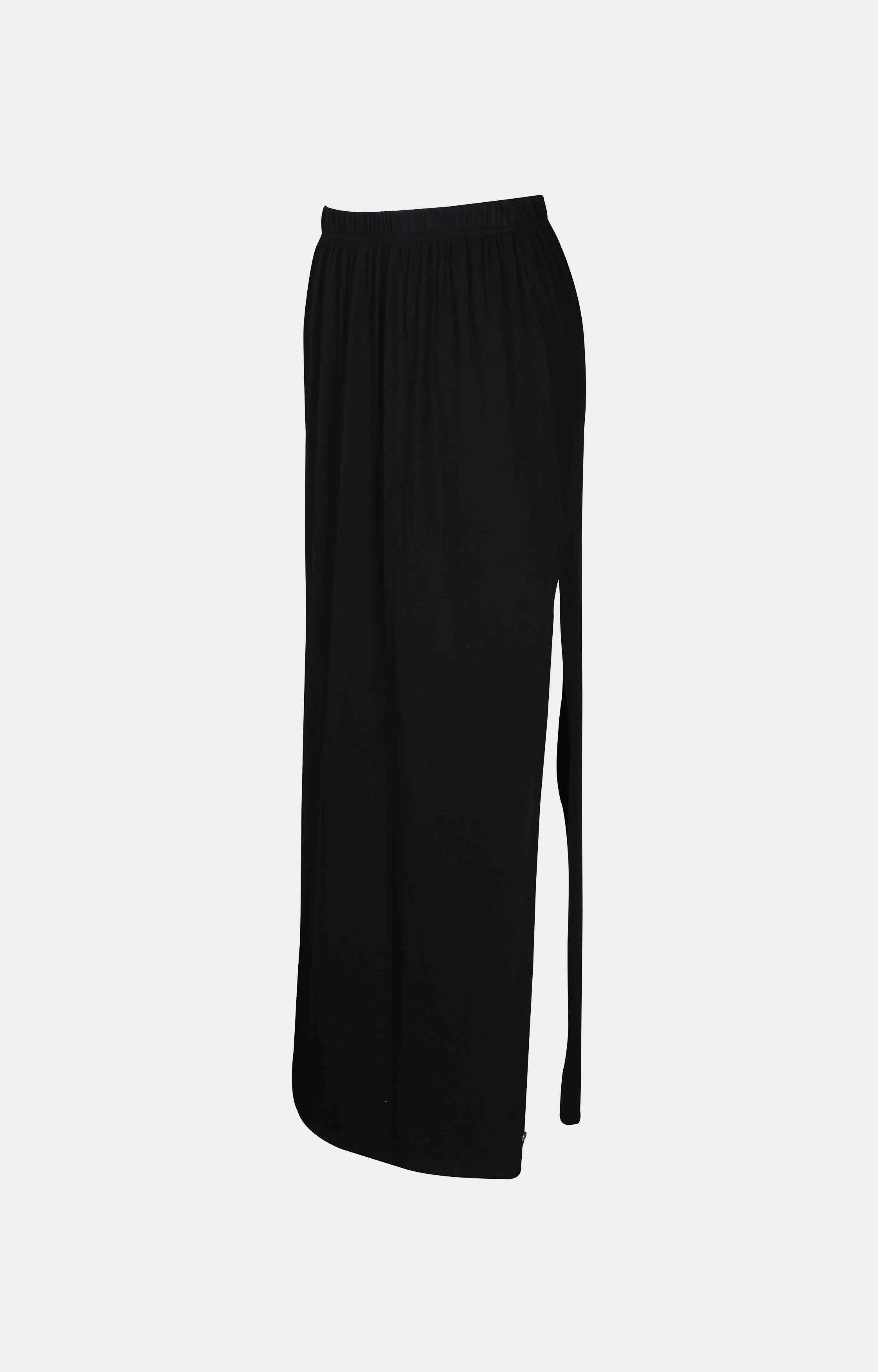 Pepe Jeans | Black Solid Straight Skirts