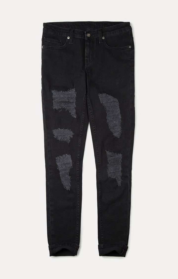 Pepe Jeans | Blue Solid Straight Jeans