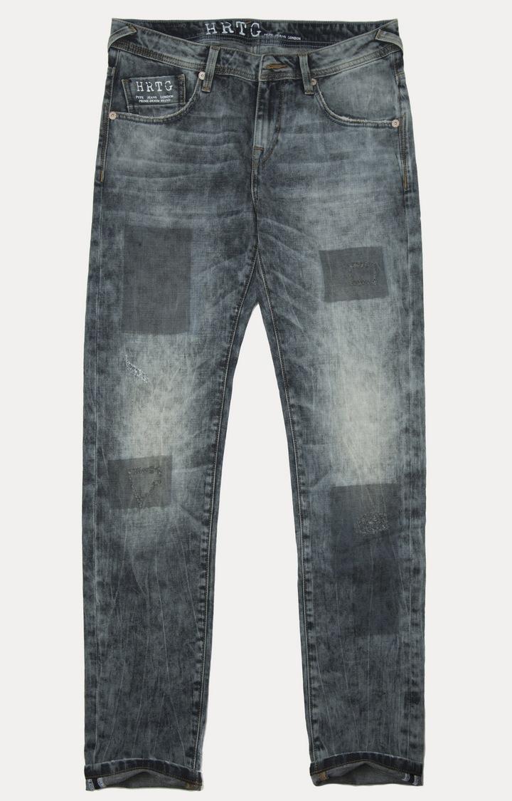 Pepe Jeans | Blasted Black Straight Jeans