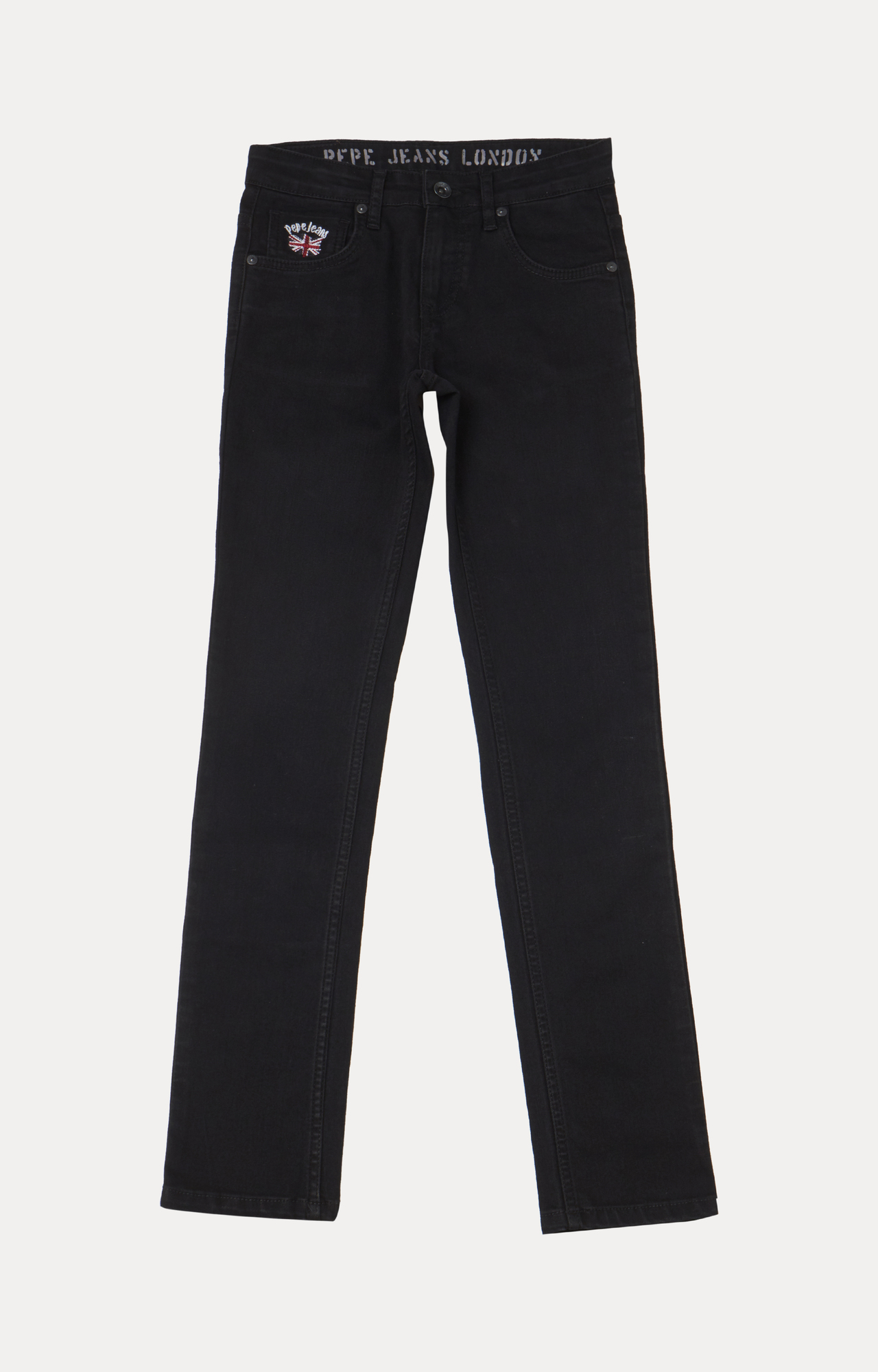 Pepe Jeans | Black Solid Jeans