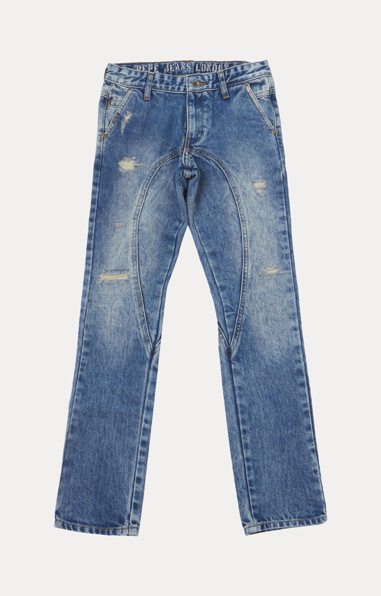 Pepe Jeans | Blue Solid Jeans