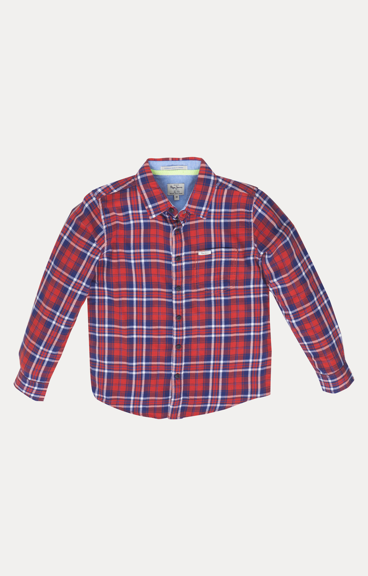 Pepe Jeans | Red and Blue Checked Shirt