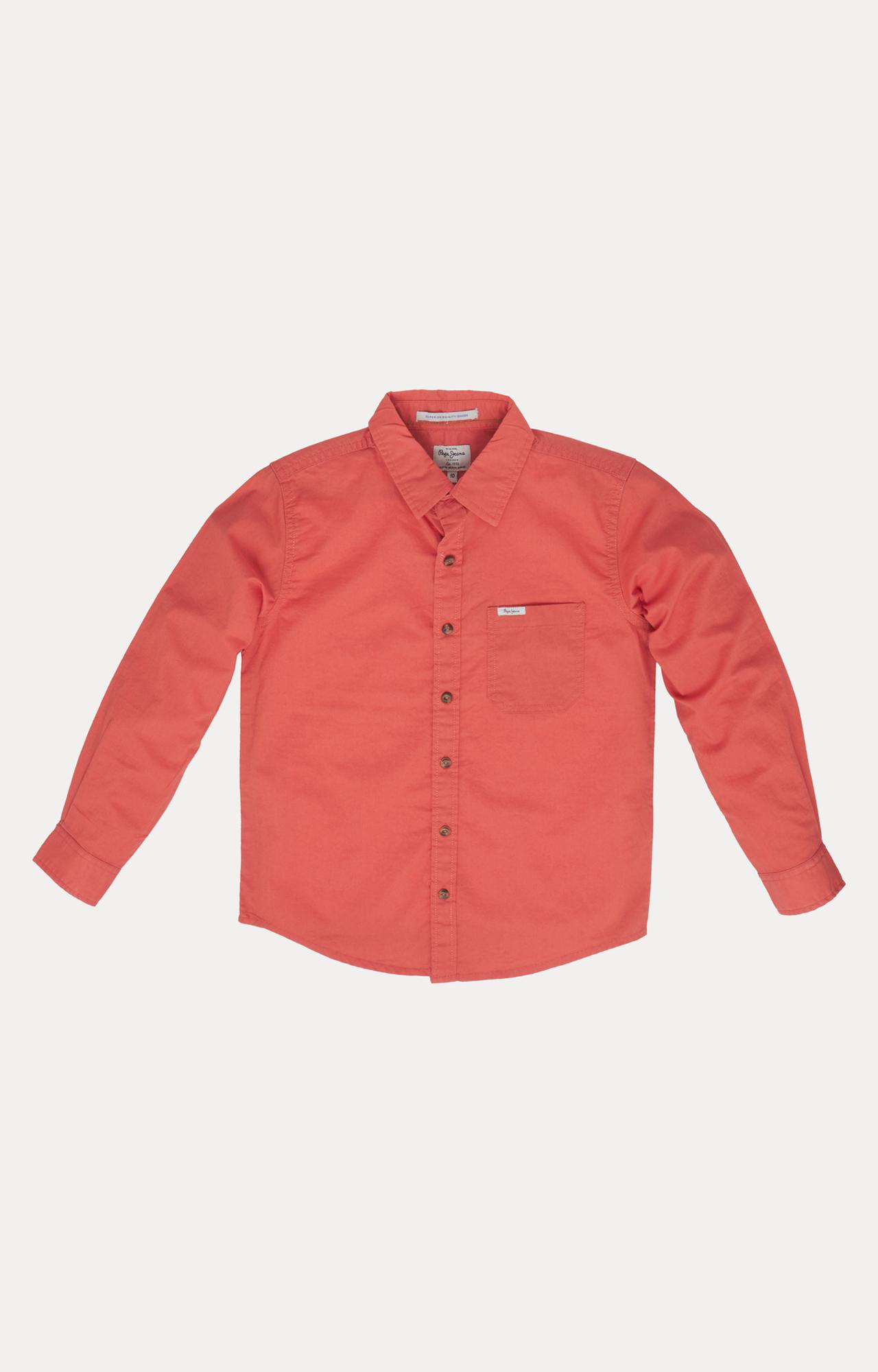 Pepe Jeans | Orange Solid Shirt