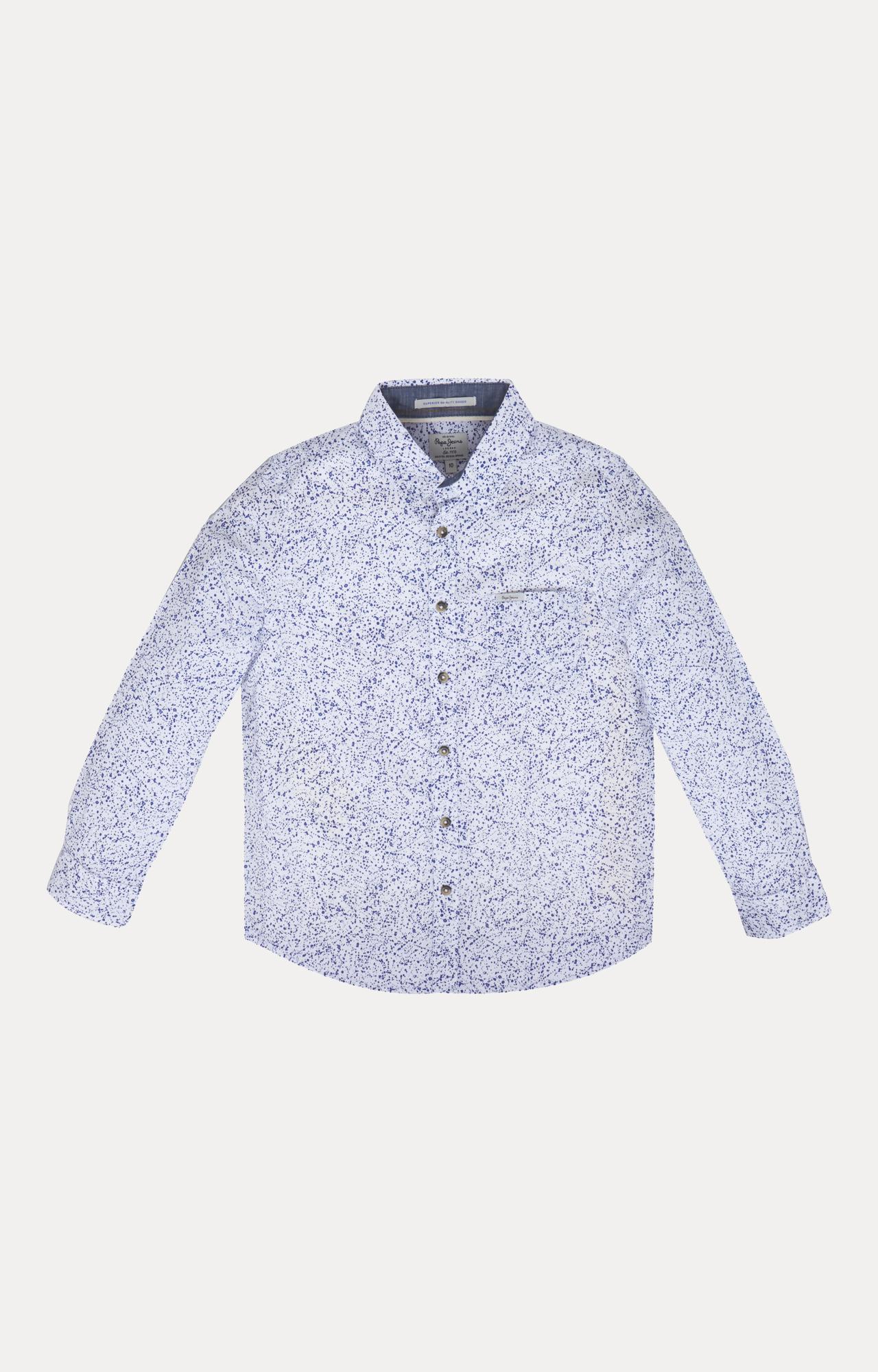 Pepe Jeans | Blue Printed Shirt