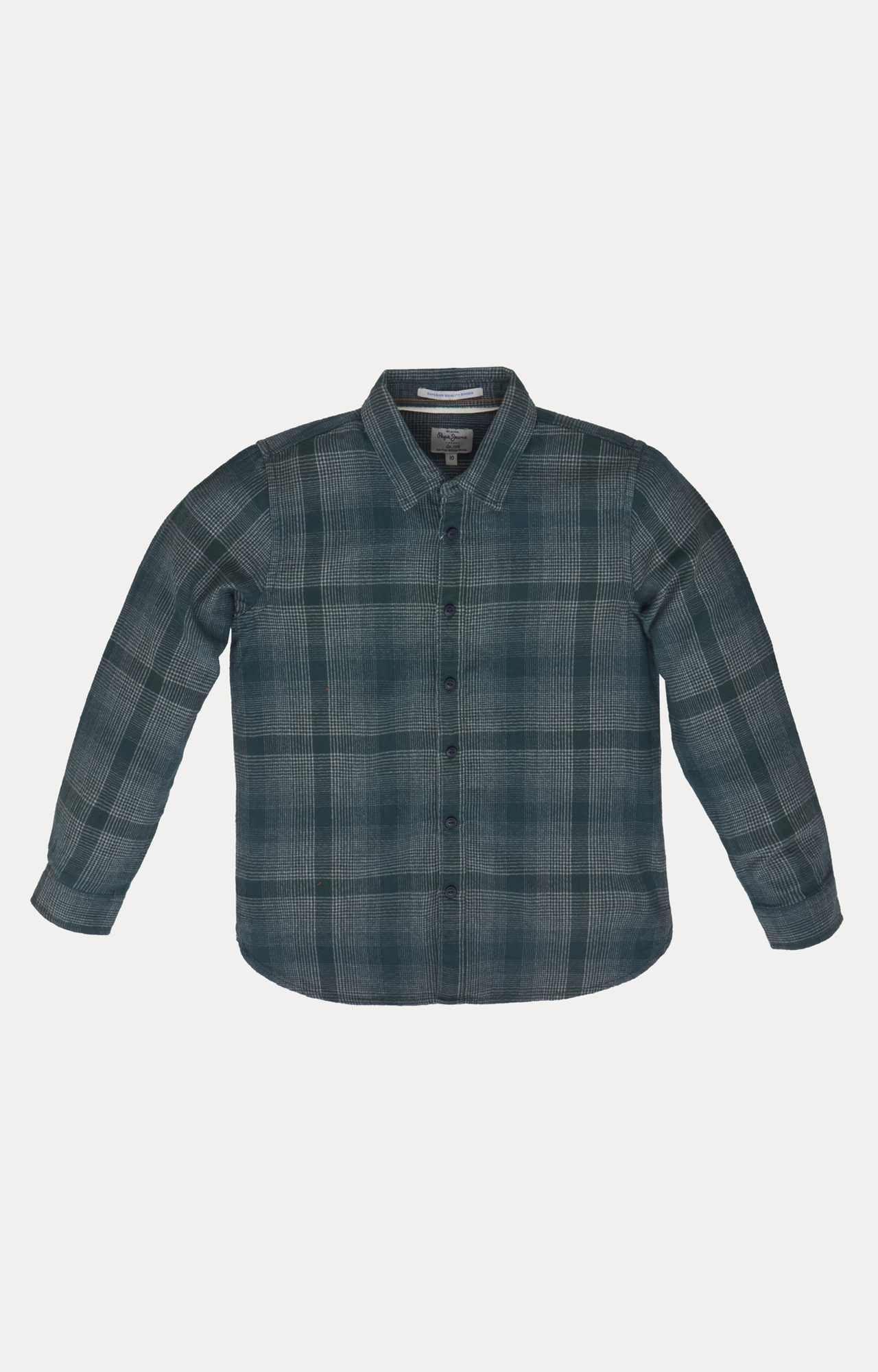 Pepe Jeans | Dark Green Checked Shirt