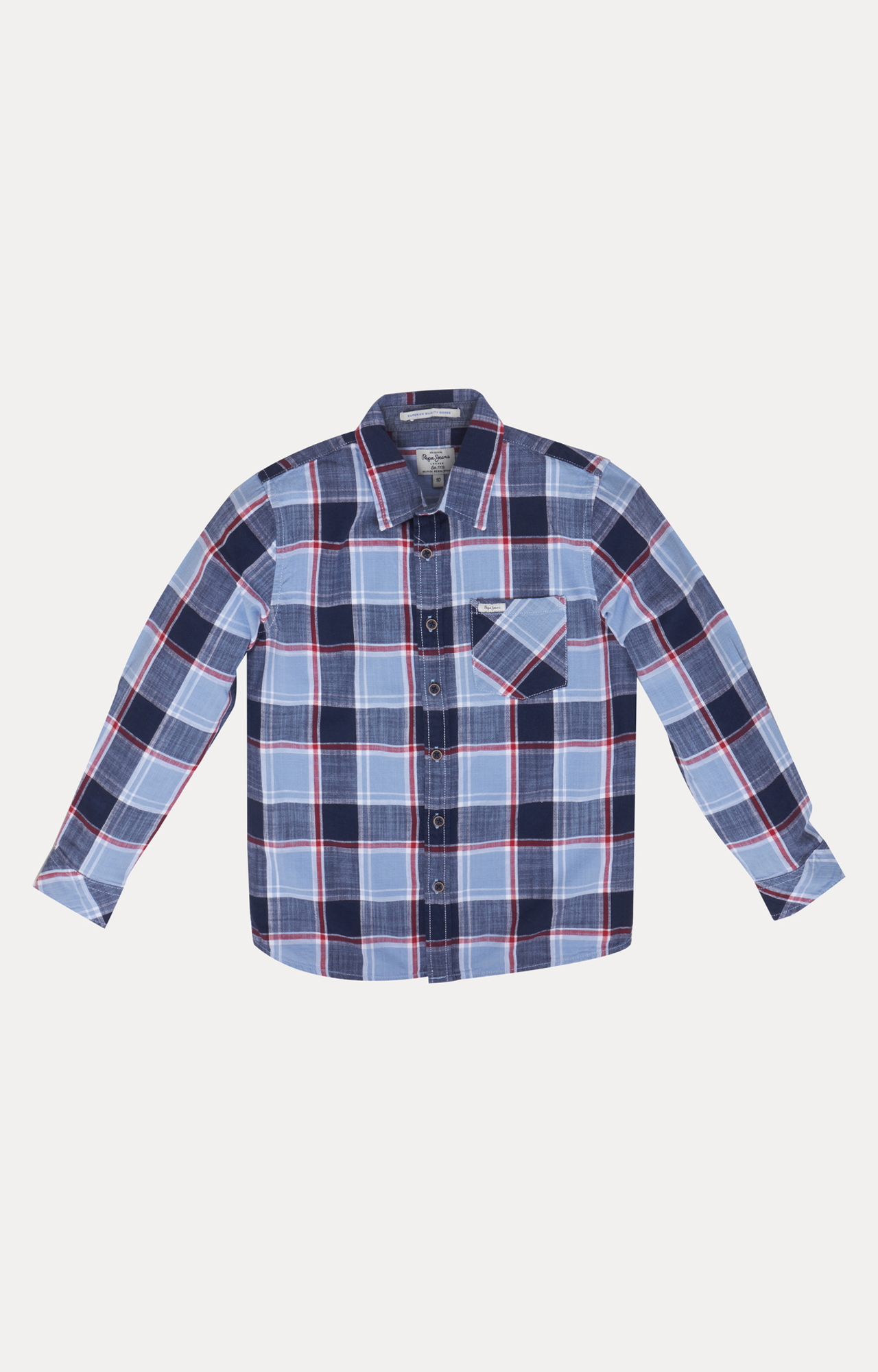 Pepe Jeans | Blue Checked Shirt