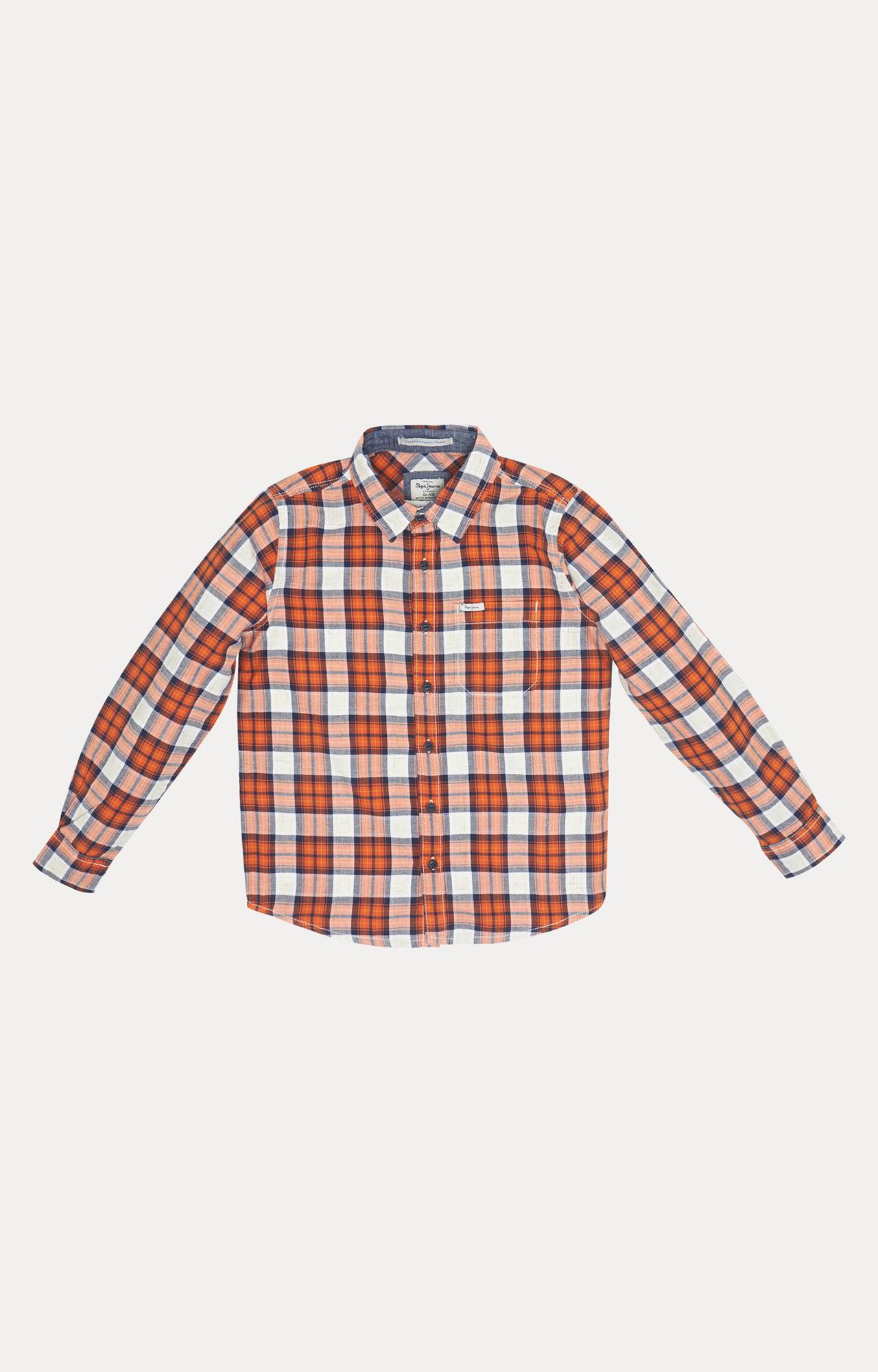Pepe Jeans | Orange Checked Shirt