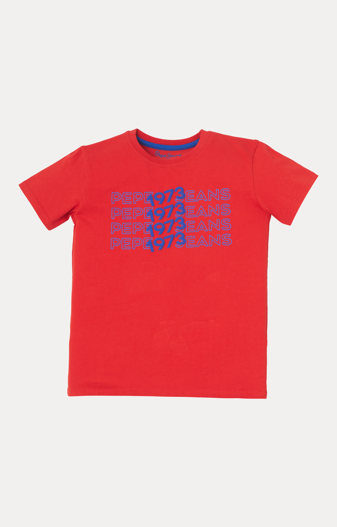 Pepe Jeans   Red Printed T-Shirt