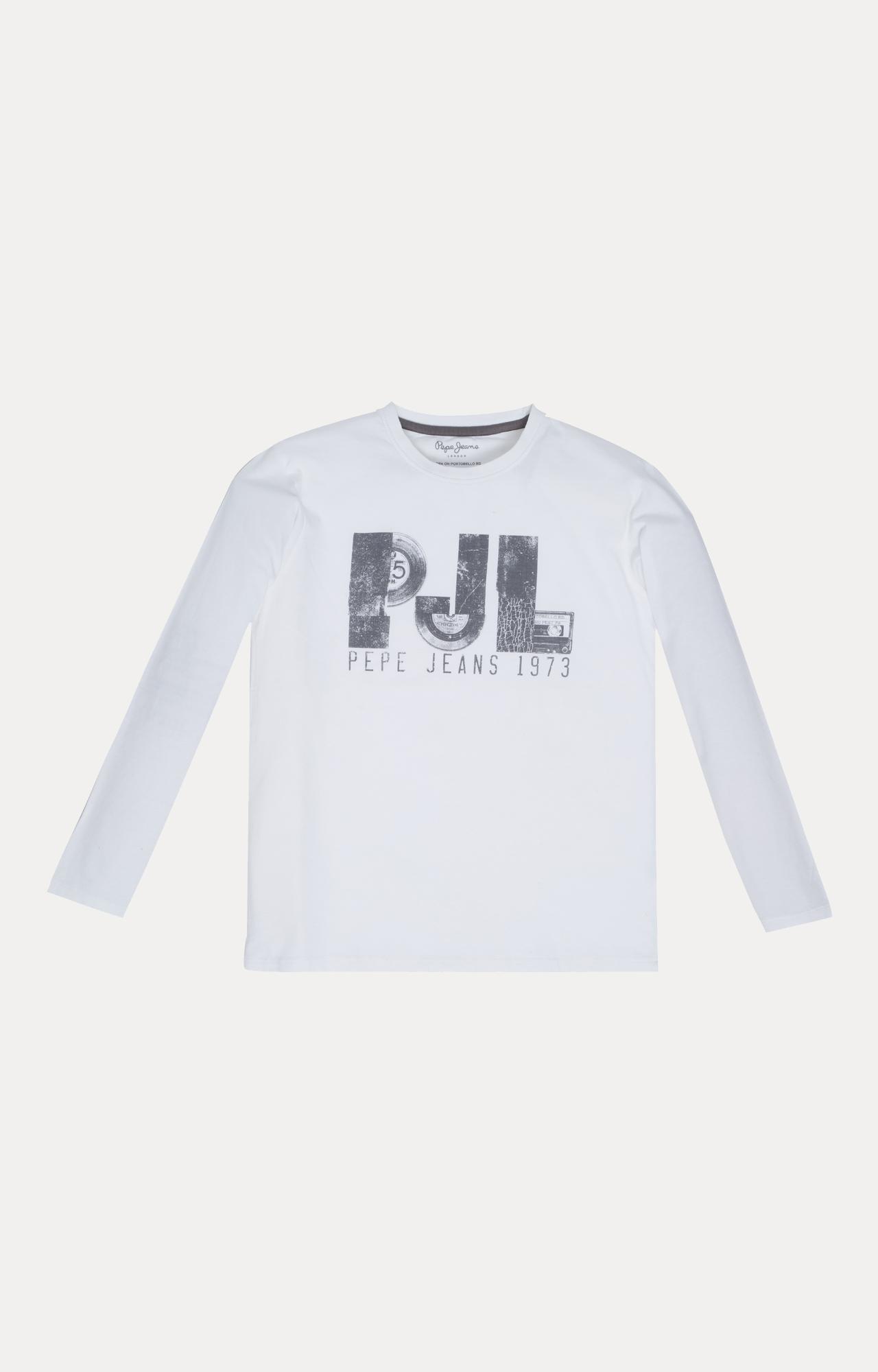 Pepe Jeans   White Printed T-Shirt
