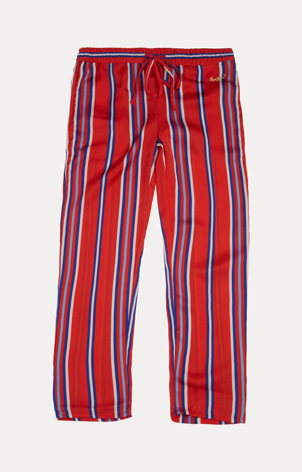 Pepe Jeans | Red Striped Trousers