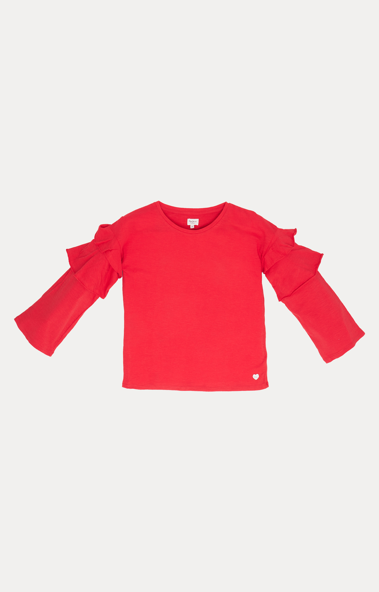 Pepe Jeans   Red Solid T-Shirt