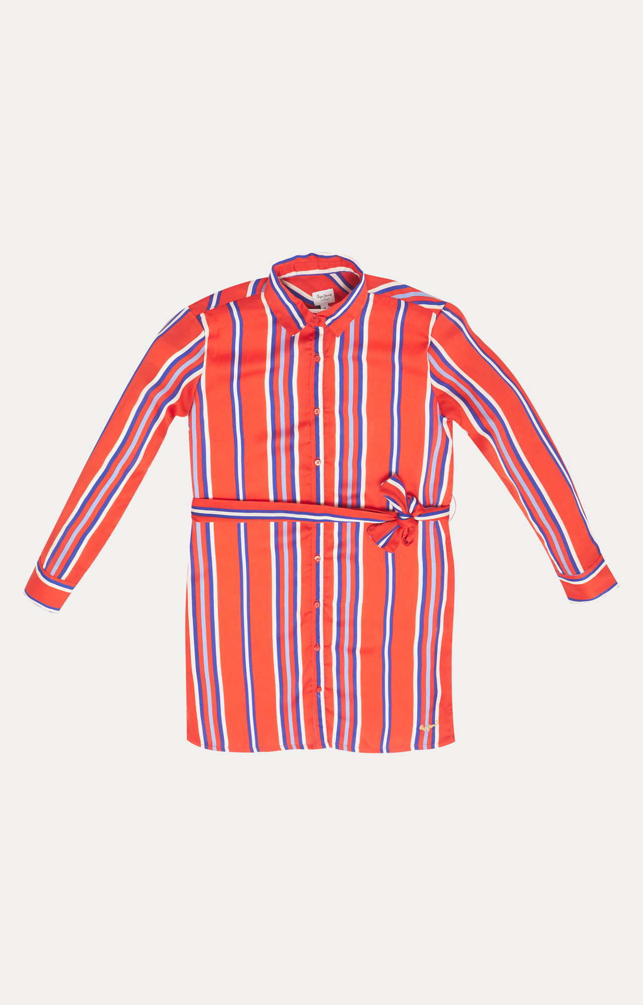 Pepe Jeans | Red Striped Dress