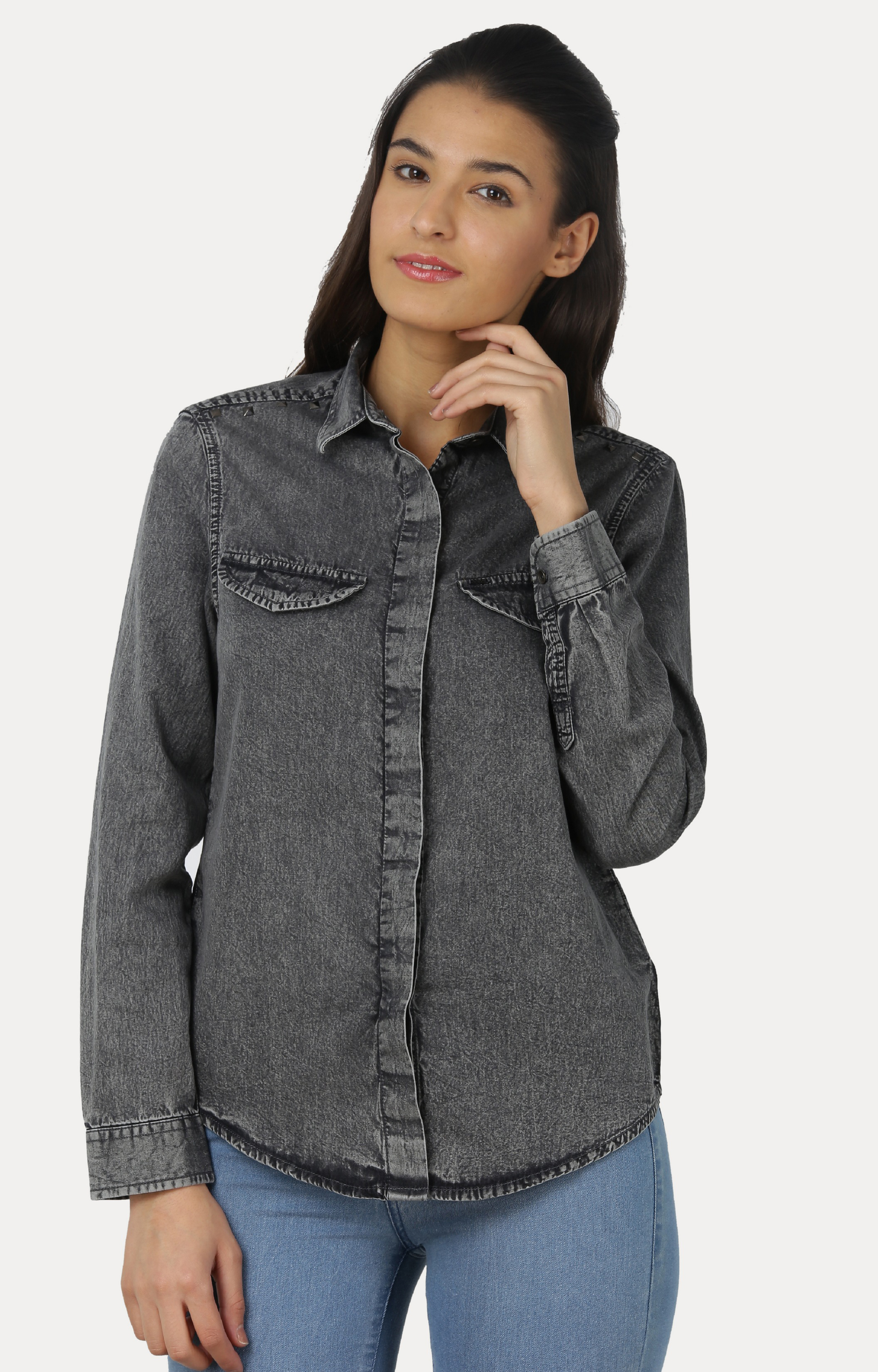 Pepe Jeans | Black Solid Casual Shirts