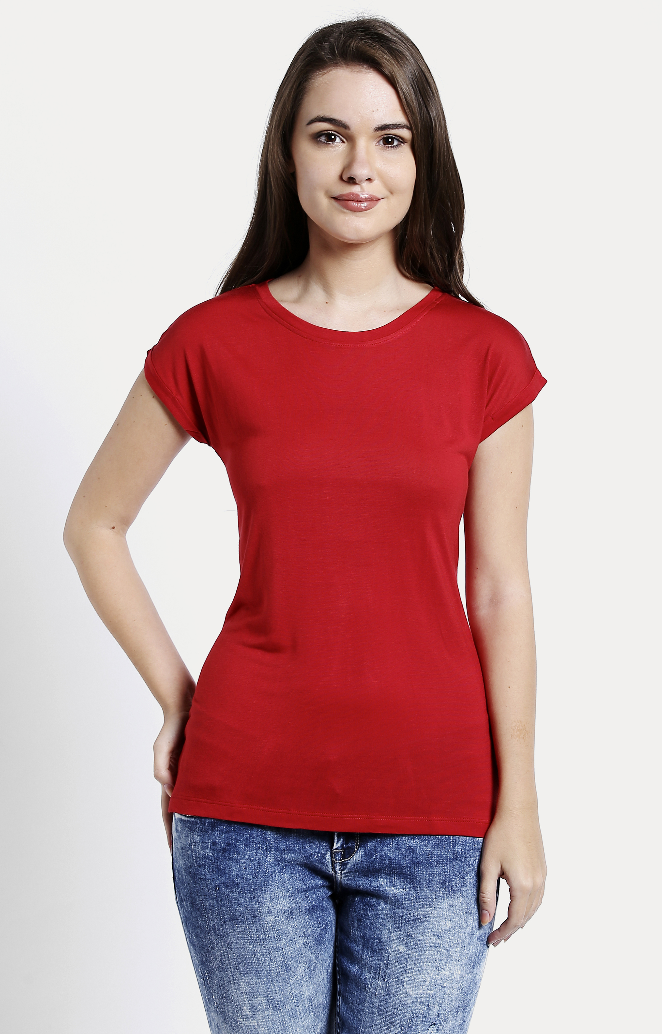 Pepe Jeans | Red Solid T-Shirts