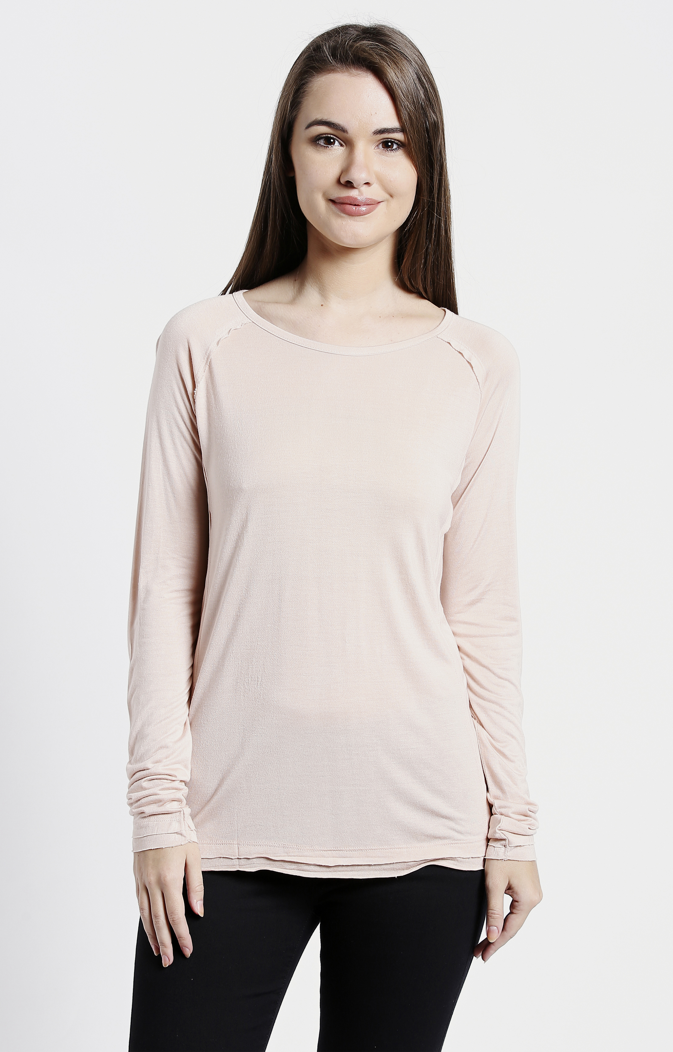 Pepe Jeans | Pink Solid T-Shirts