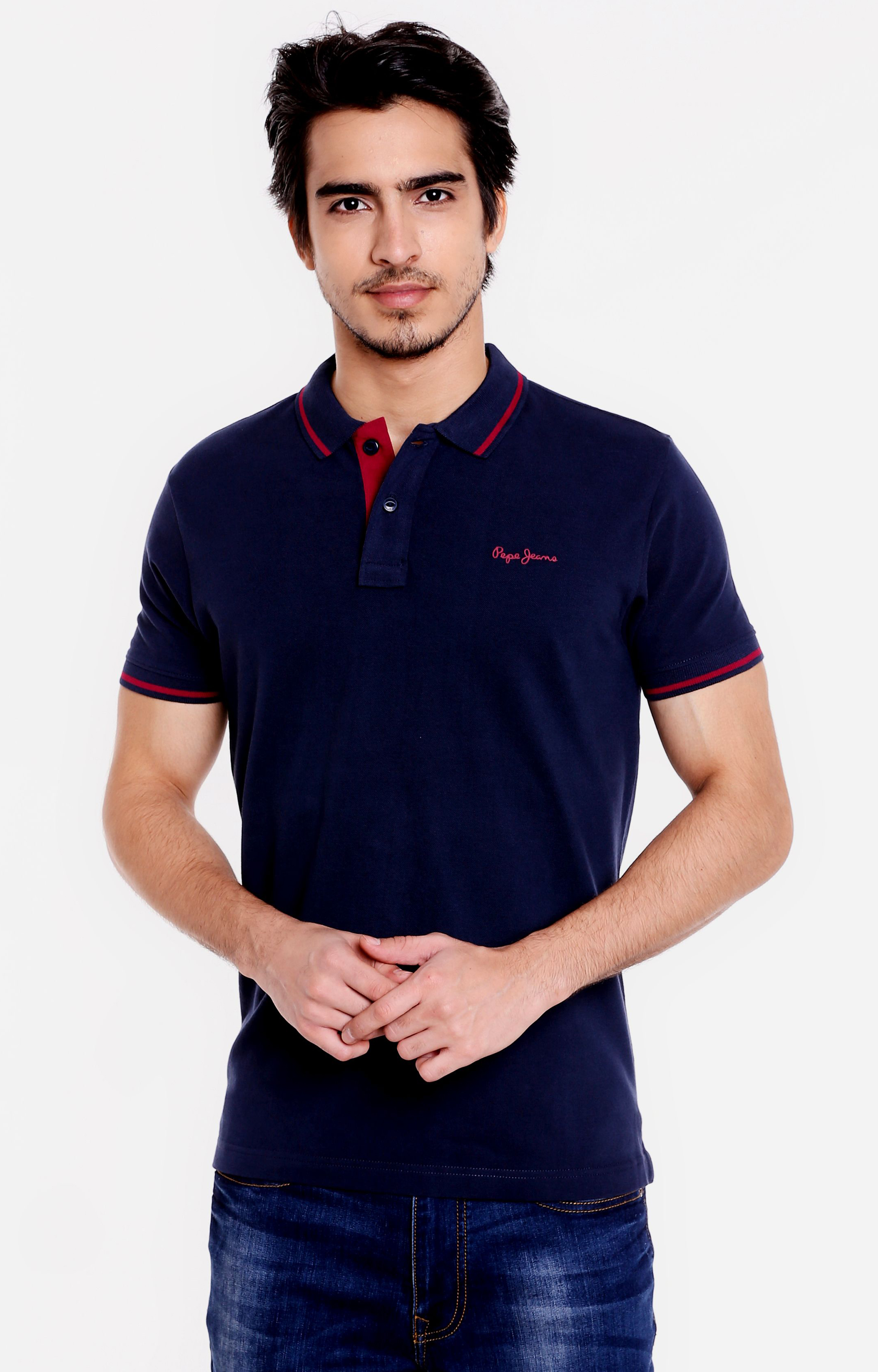 Pepe Jeans | Blue Solid T-Shirts