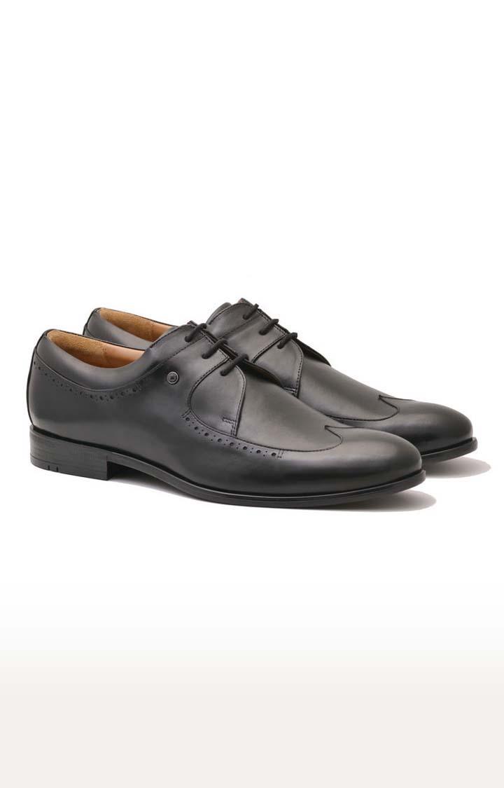 Ruosh   Black Derby Shoes