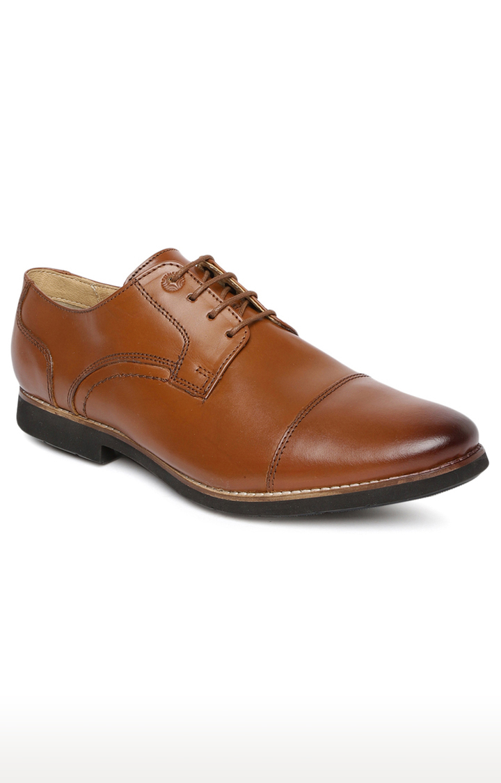 Ruosh | Tan Derby Shoes