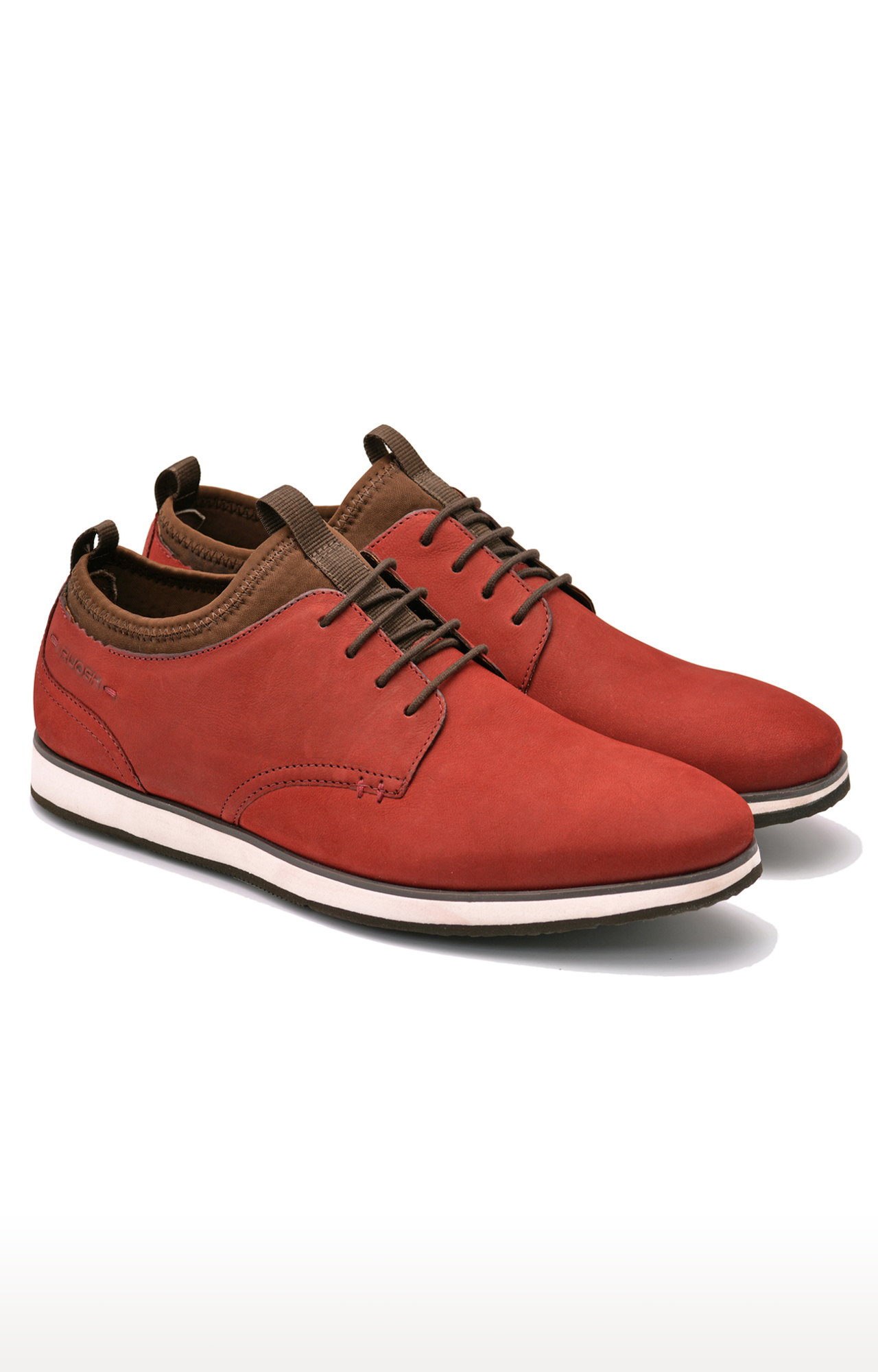 Ruosh | Red Casual Lace-ups