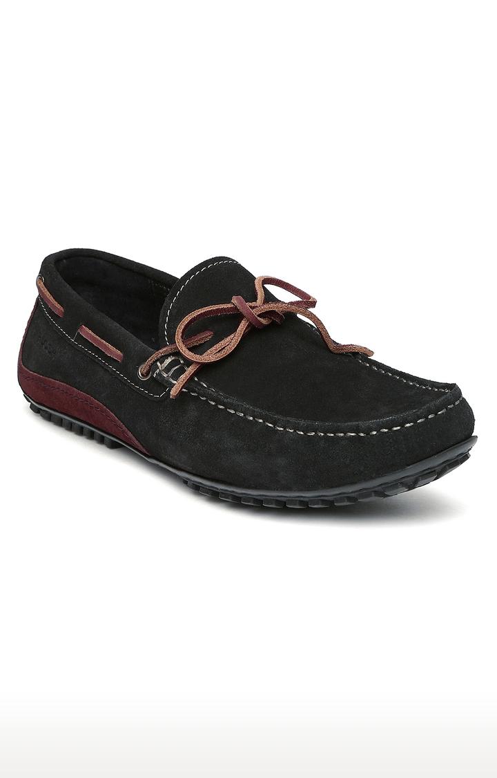 Ruosh | Black Boat Shoes