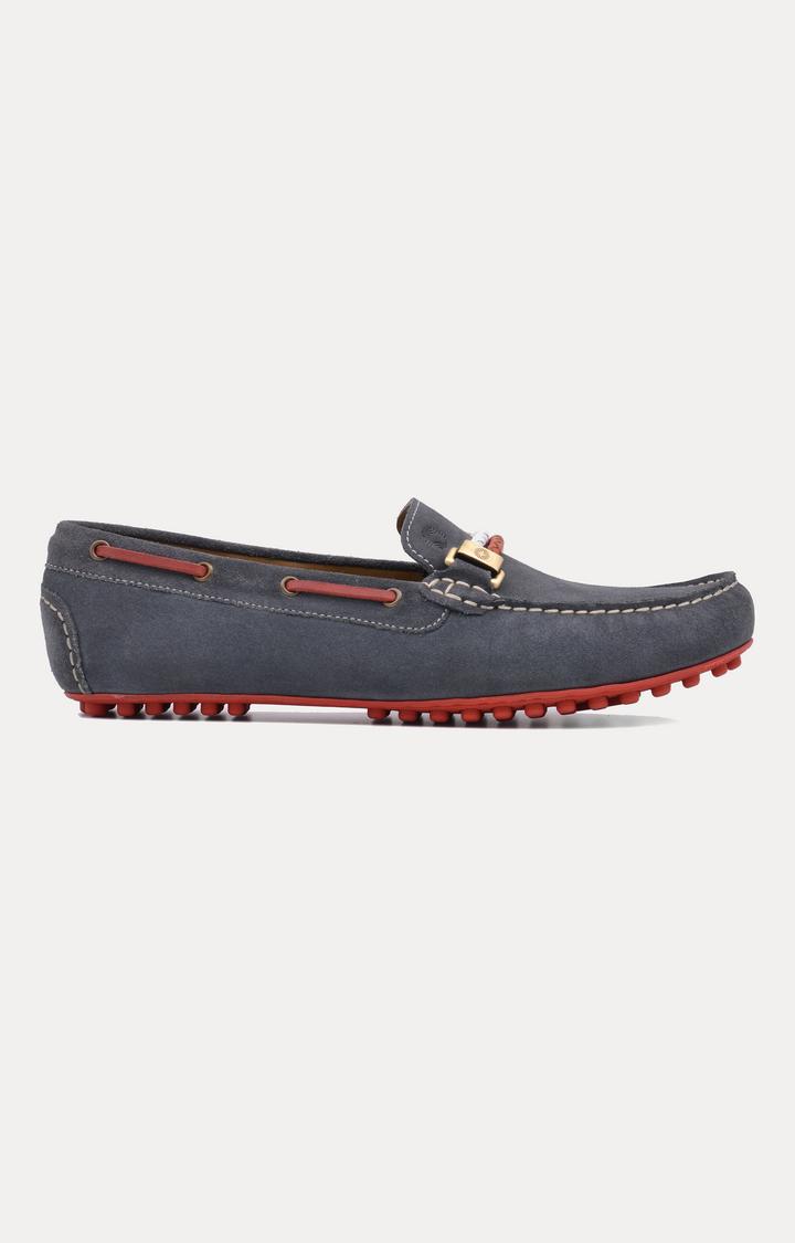 Ruosh | Grey Boat Shoes