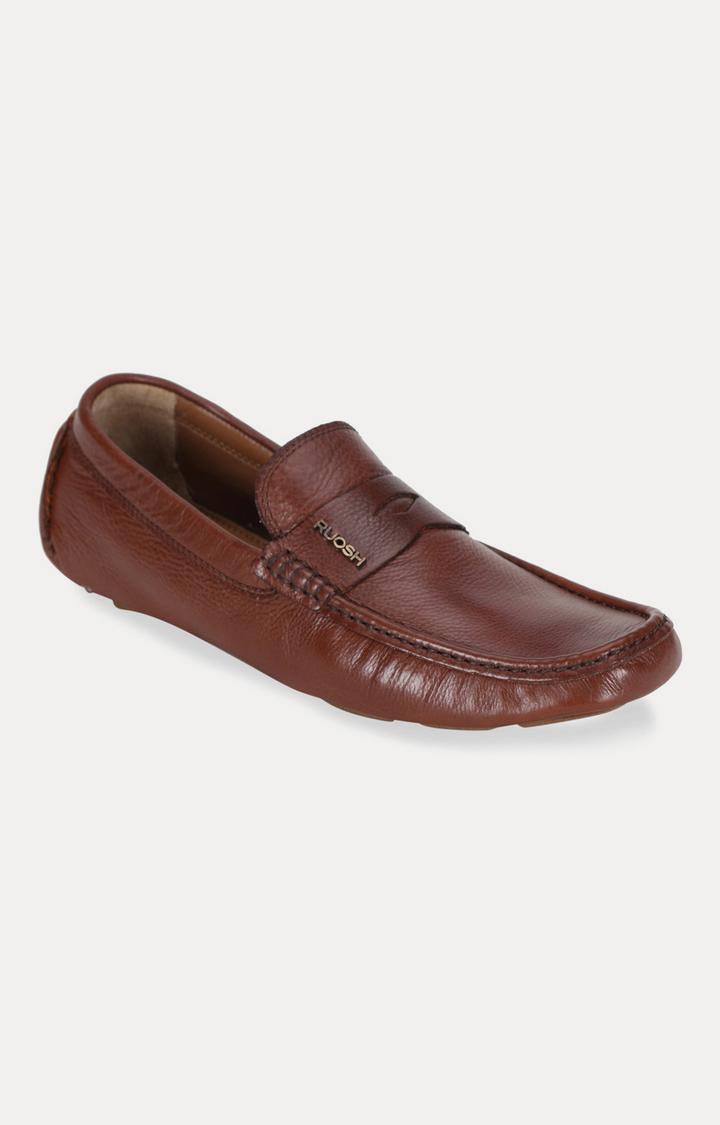Ruosh | Brown Casual Slip-ons
