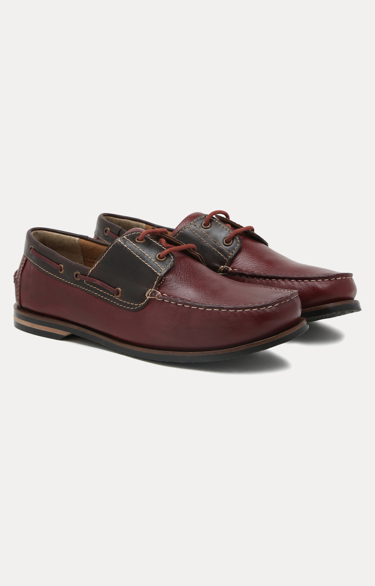 Ruosh | Brown Boat Shoes