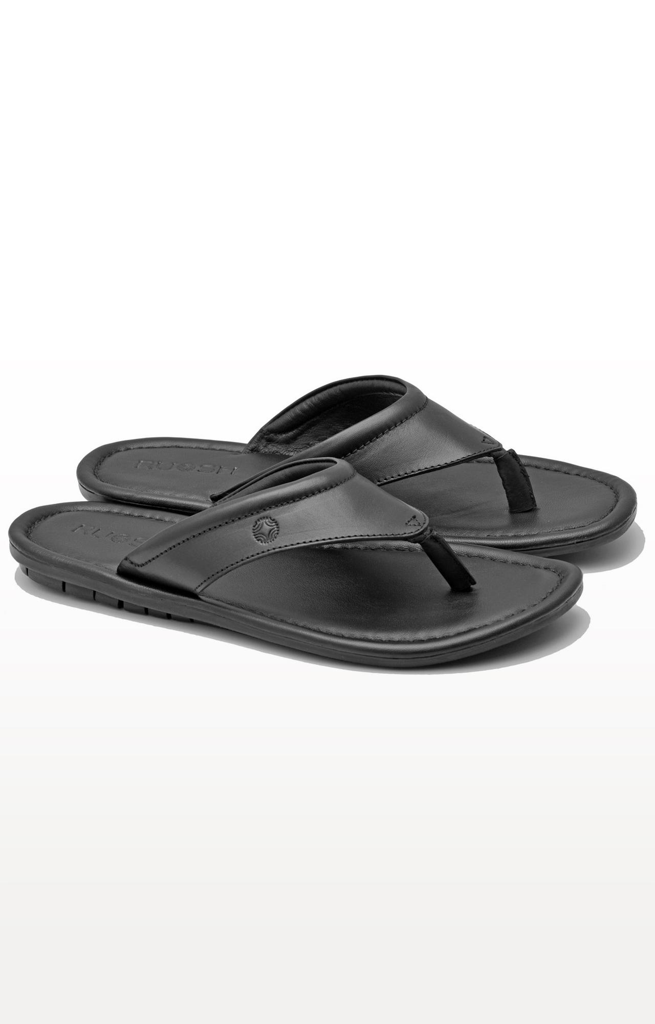 Ruosh | Black Flip Flops