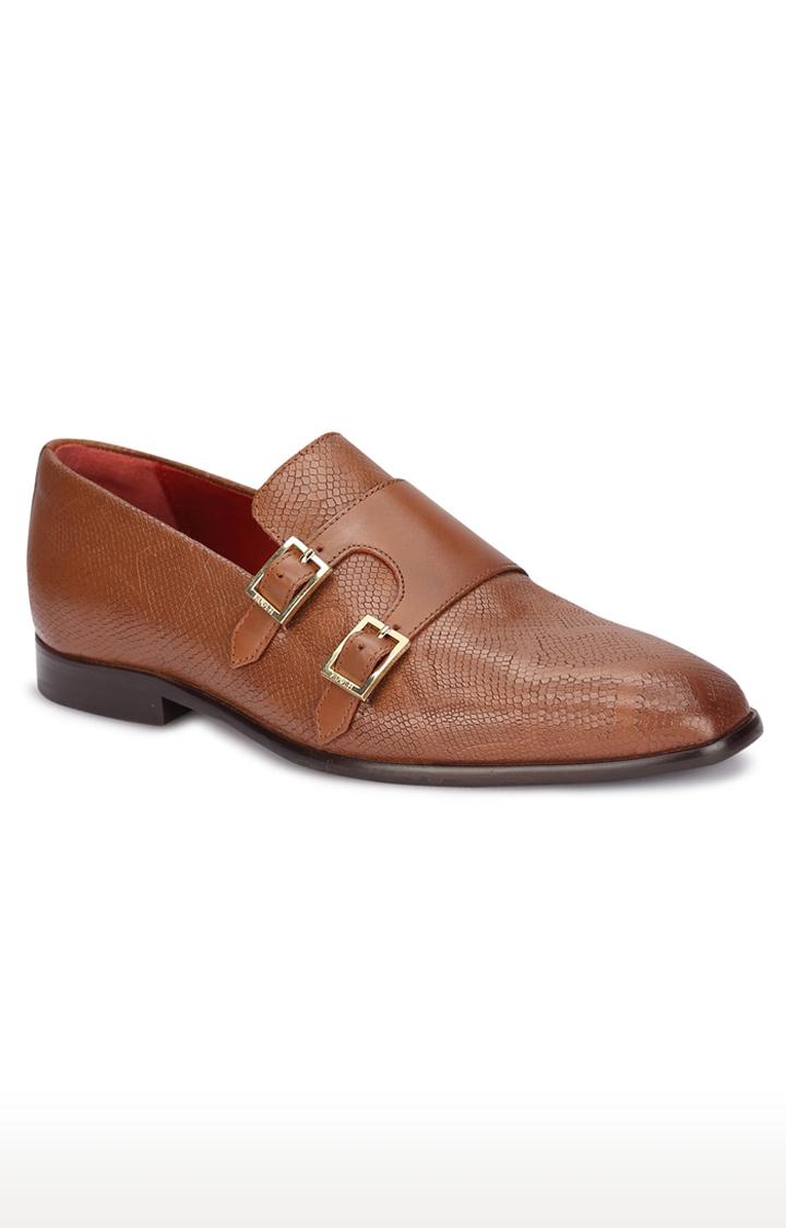 Ruosh | Tan Monk-strap Shoes