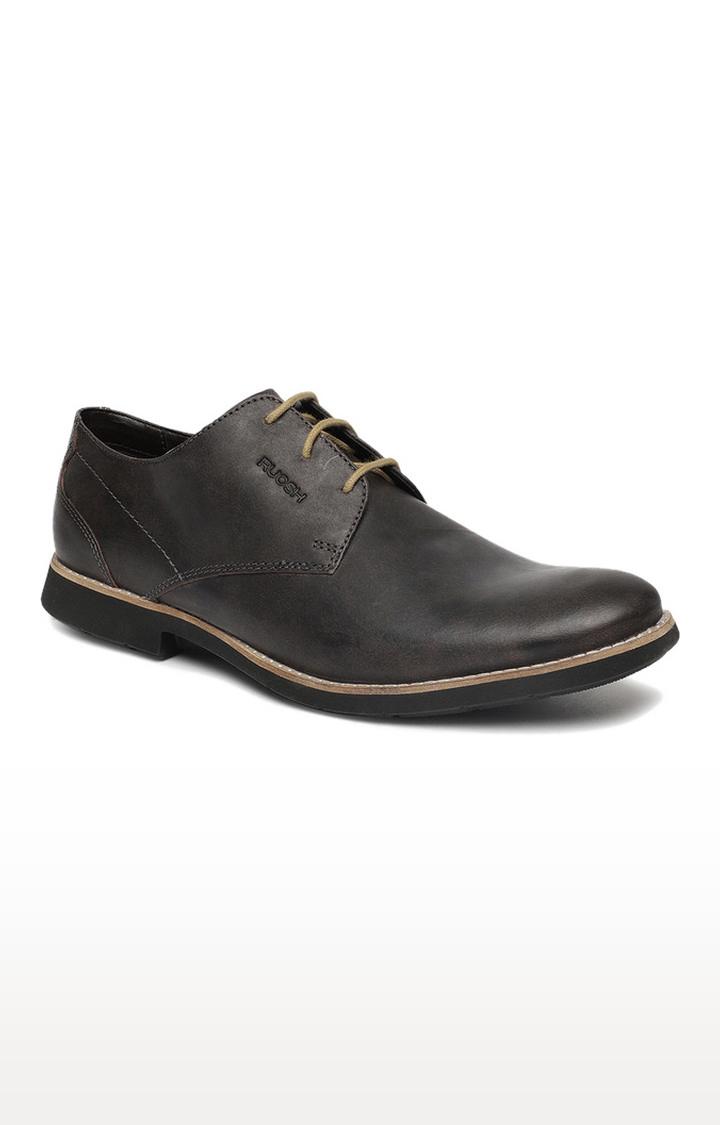 Ruosh | Grey Derby Shoes