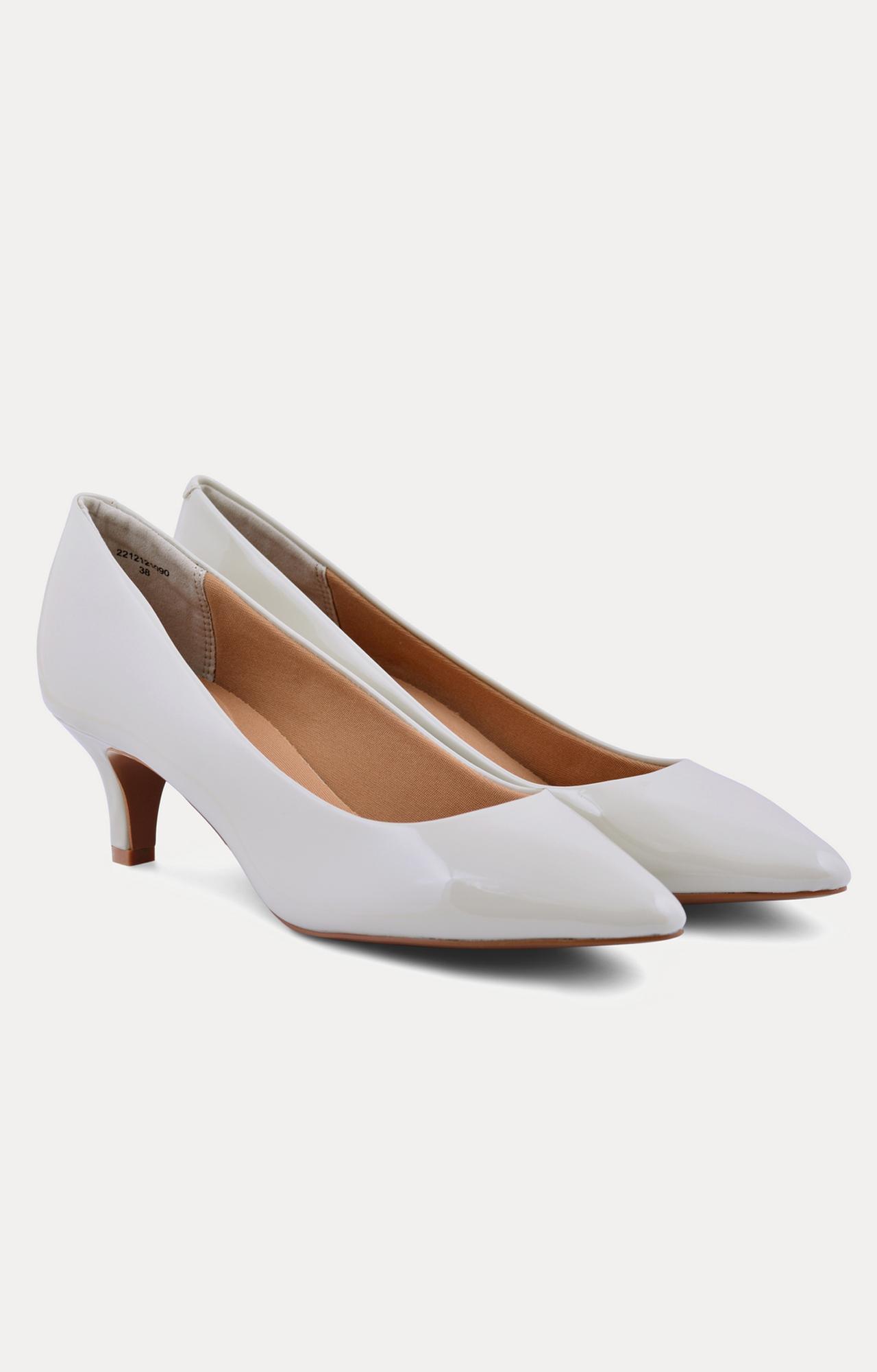 Ruosh | Off White Kitten Heels
