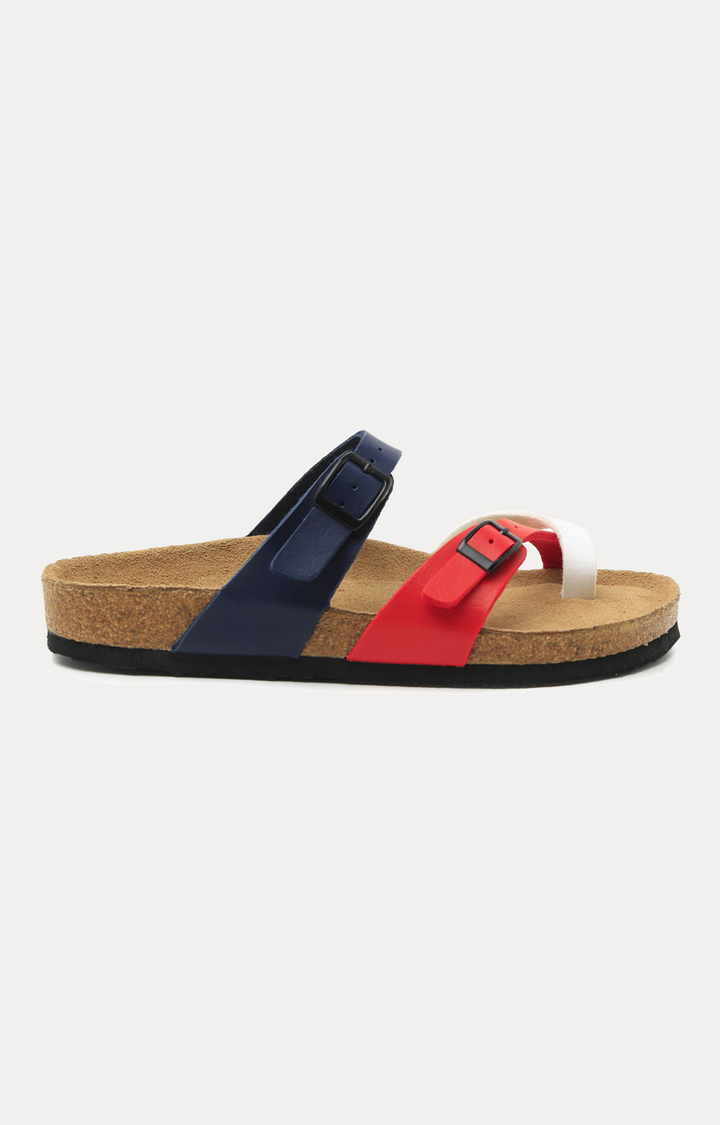 Ruosh | Red and Blue Sandals