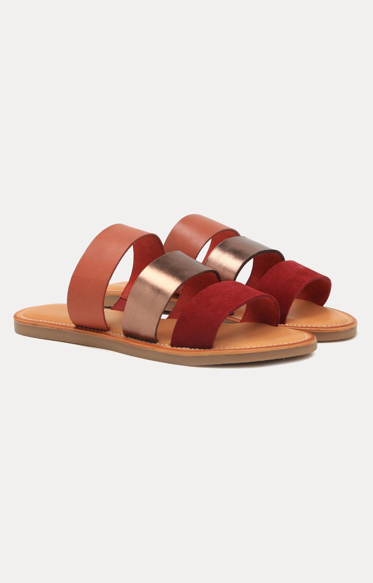 Ruosh | Red Slip-ons