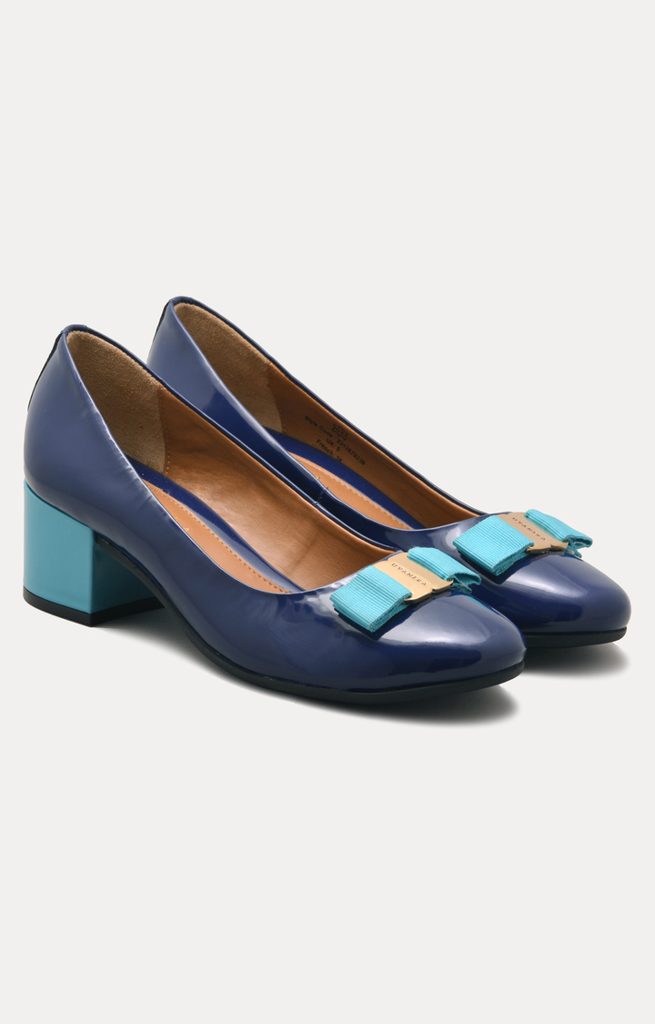Ruosh | Blue Block Heels
