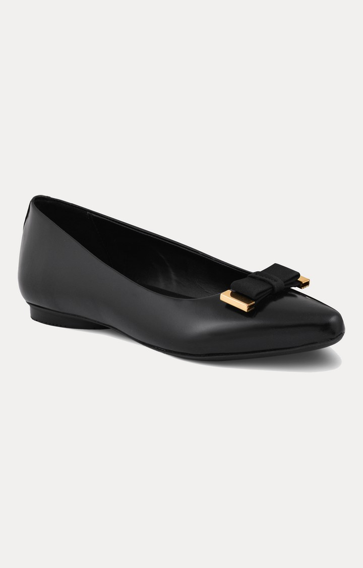 Ruosh | Black Pointed Toe Shoes