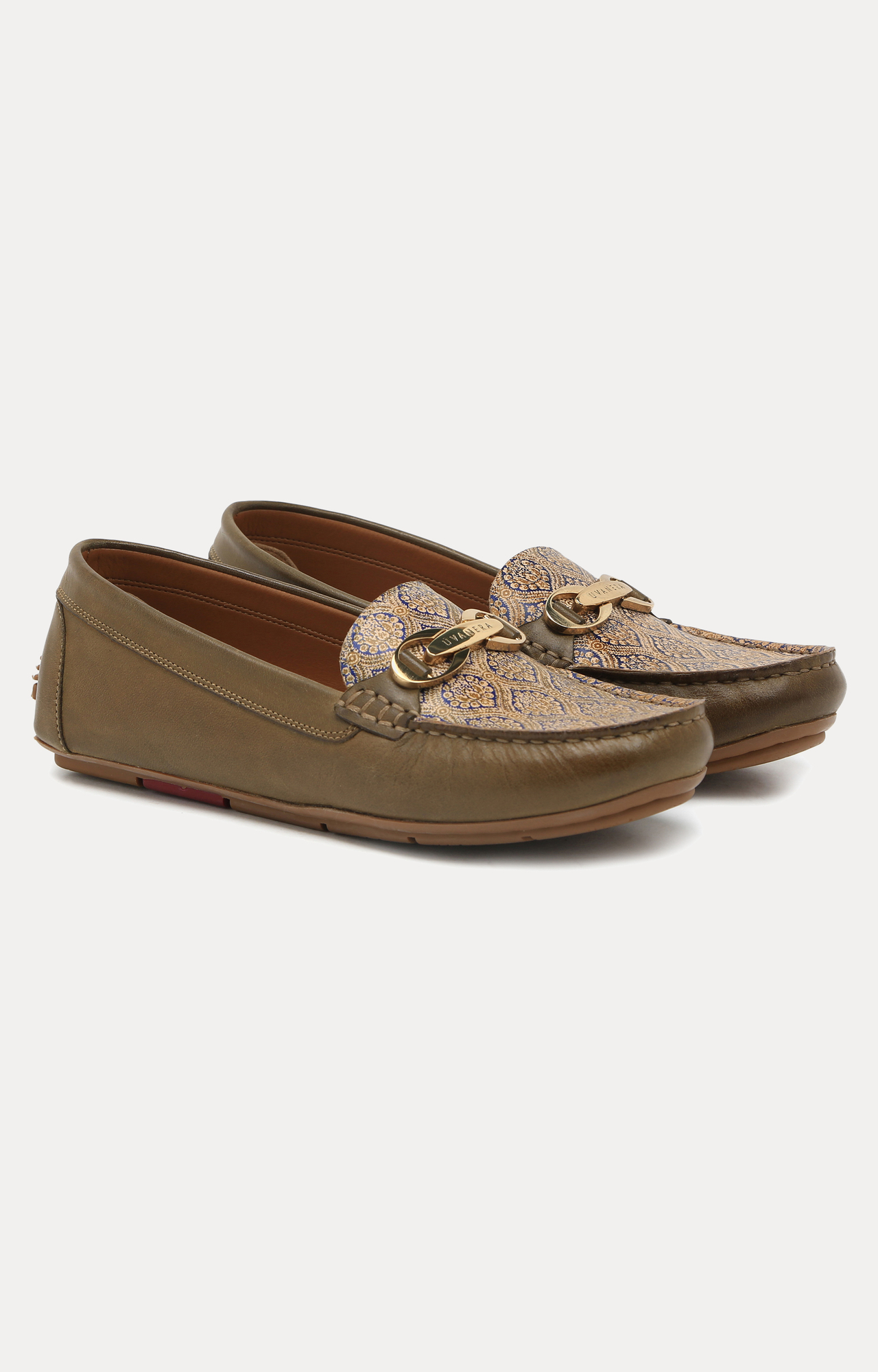 Ruosh | Green Loafers