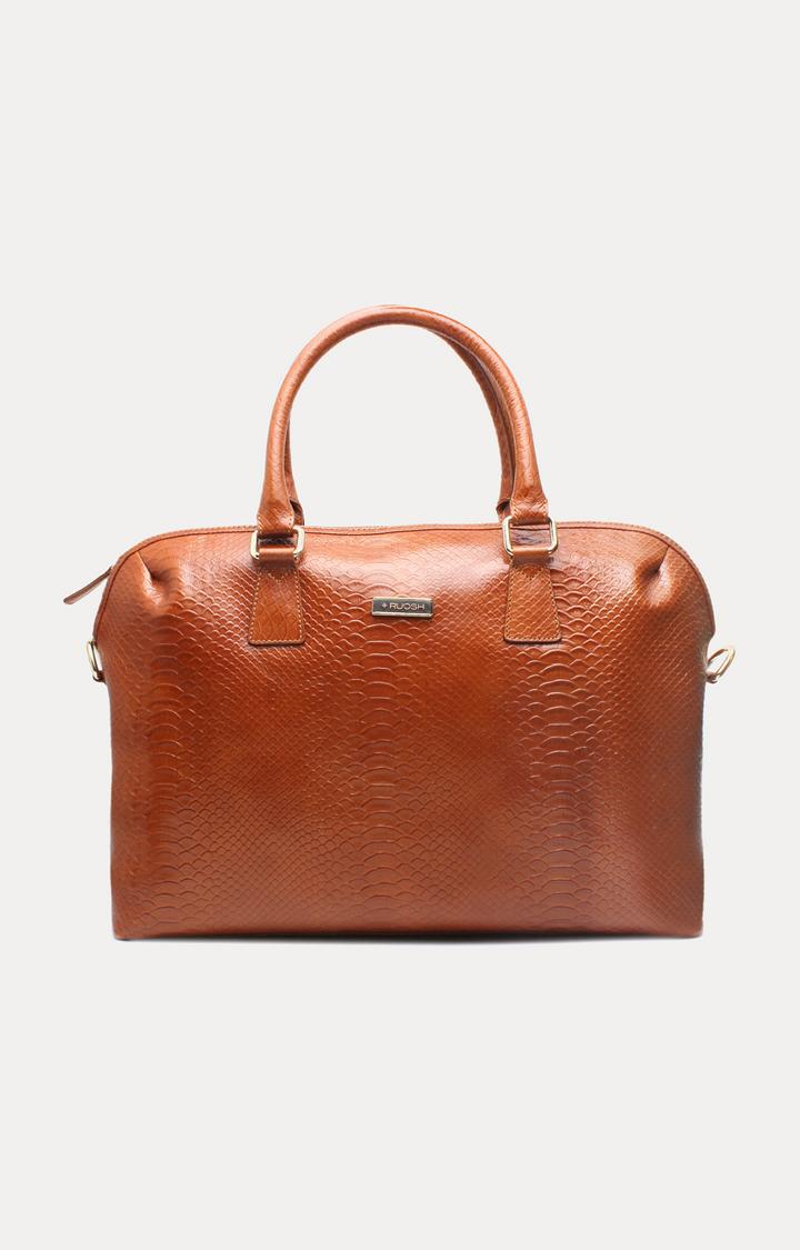 Ruosh | Tan Laptop Bag