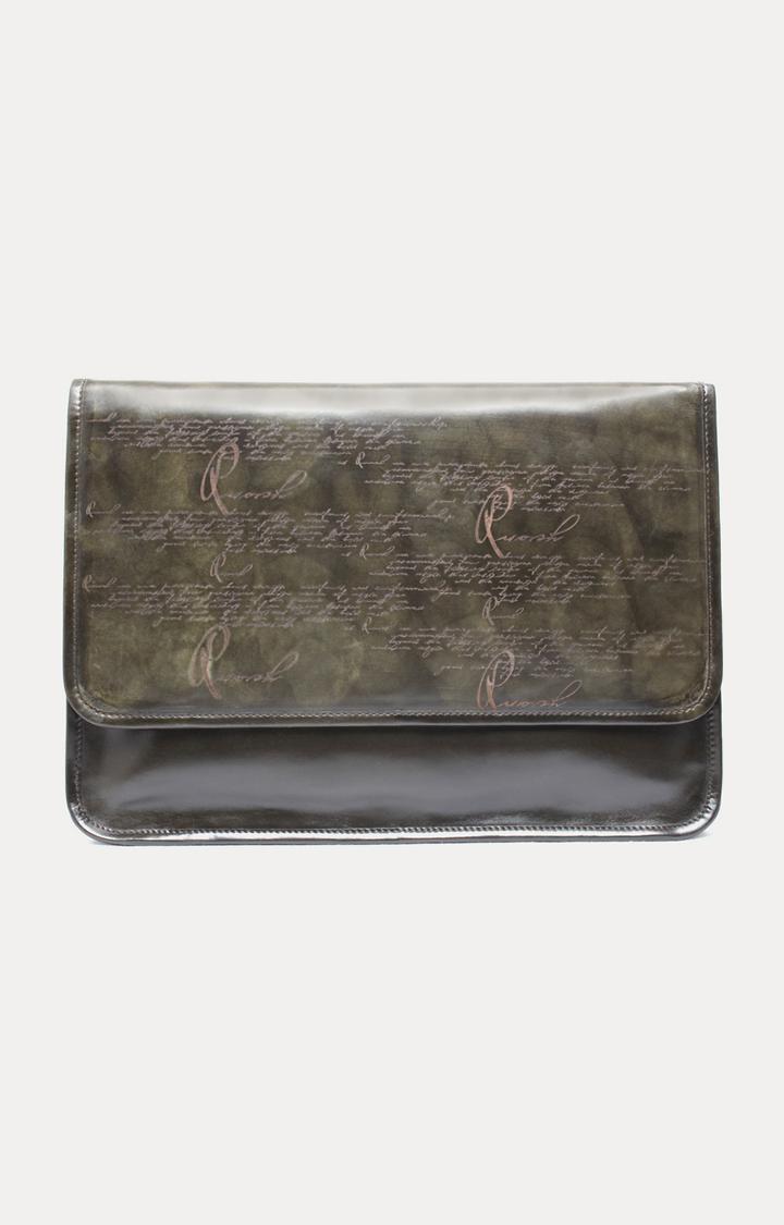 Ruosh | Green Laptop Bag
