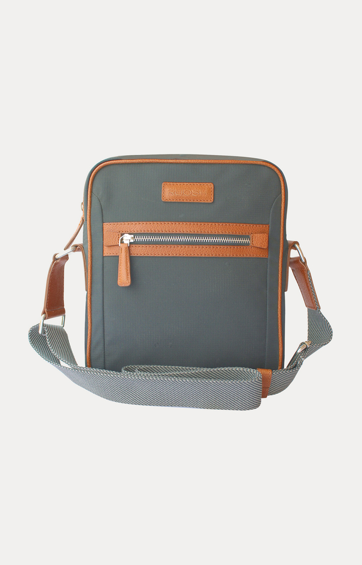 Ruosh | Grey Messenger Bag