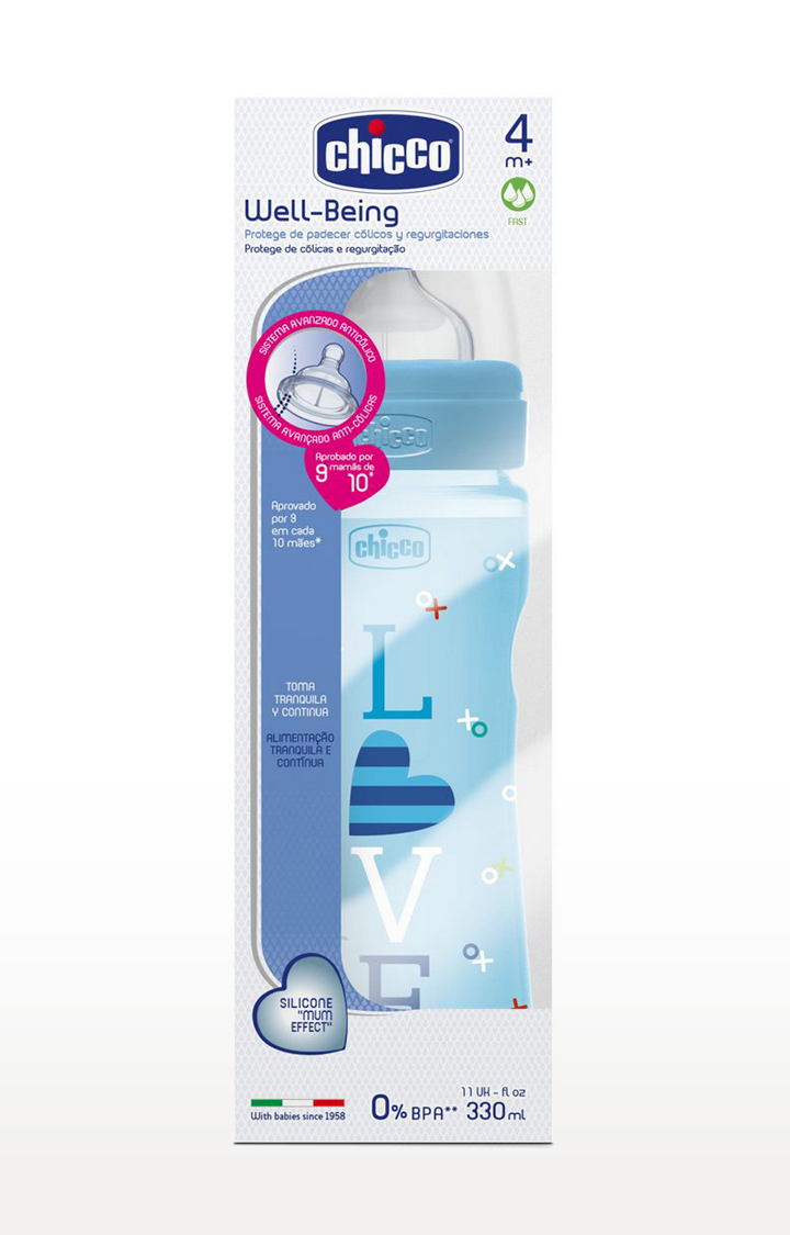 Mothercare | Blue Well Being Bottle - 330 ML