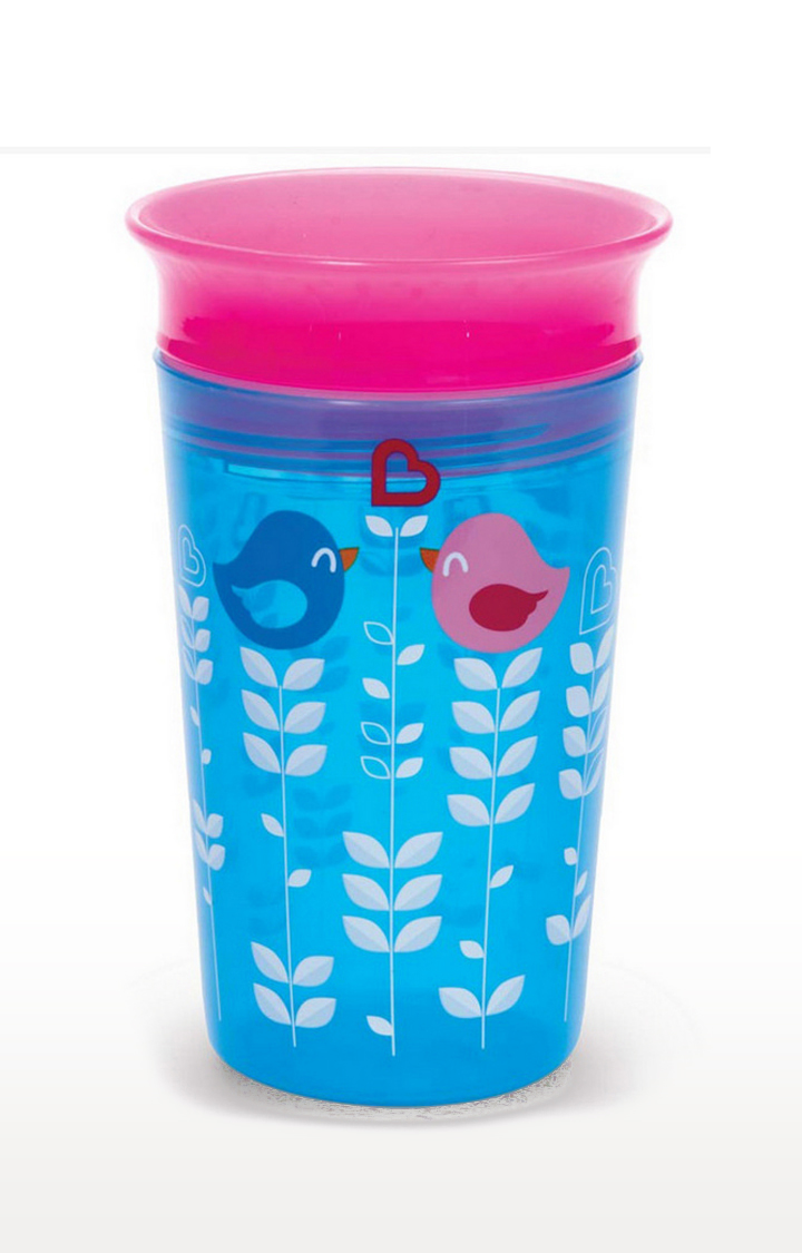 Mothercare | Munchkin 9Oz Miracle 360 Decorated Sippy Cup - Blue-Pink
