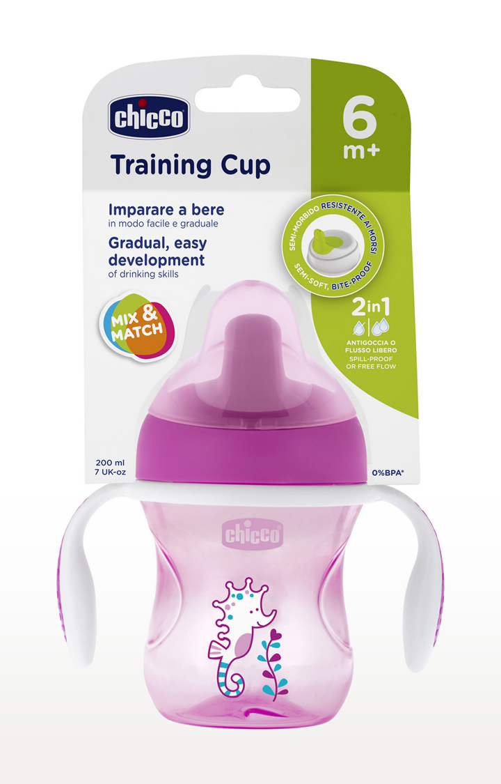 Mothercare | Pink Training Cup - 200 ML