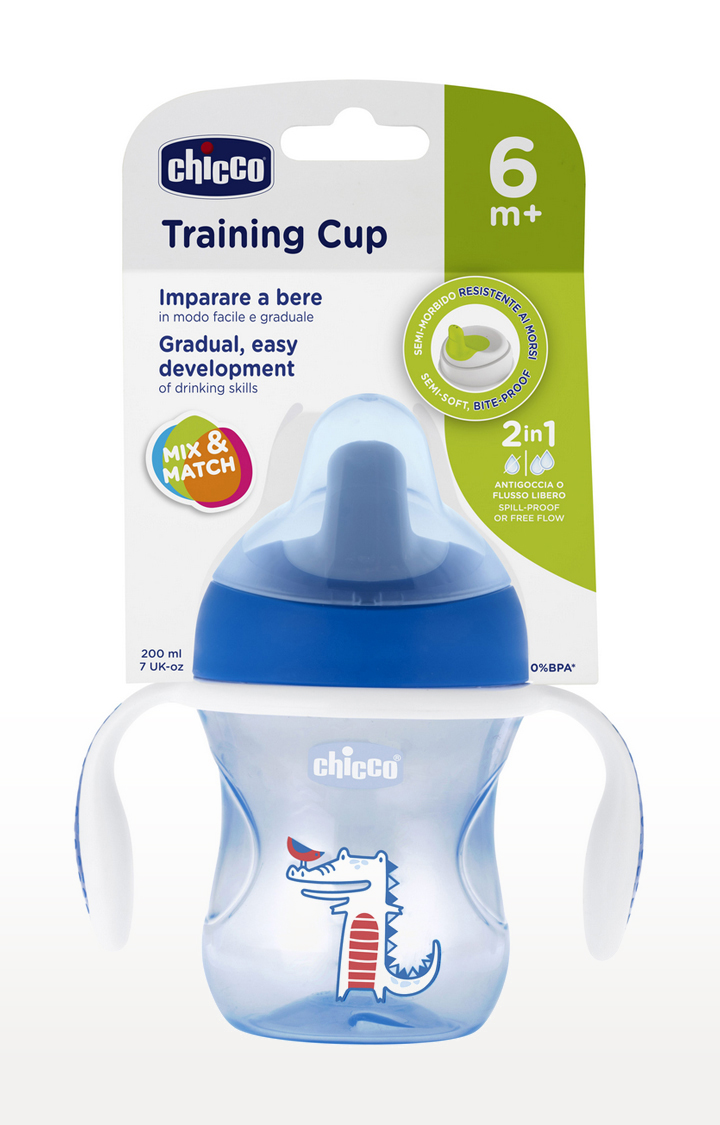 Mothercare   Blue Training Cup - 200 ML