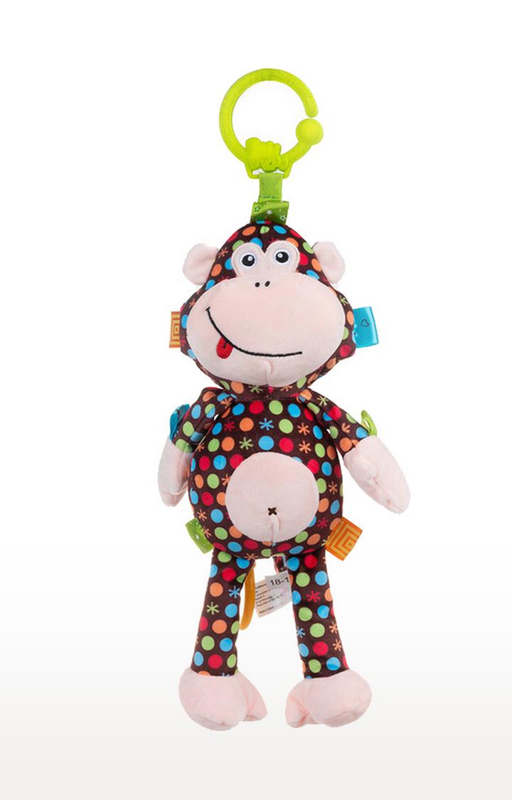 Mothercare   Bali Bazoo Monkey Martha Pull String Musical Bell