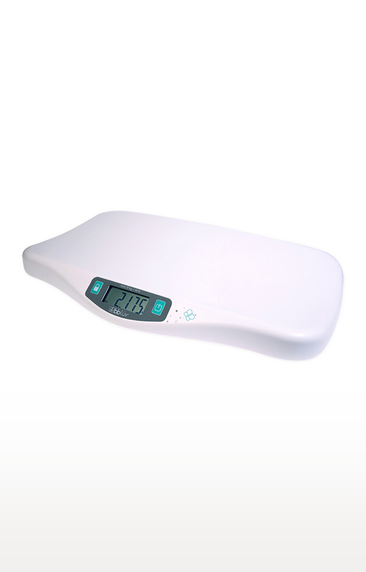 Mothercare | bbluv - Kilo - Smart and Precise Digital Baby Scale for Infants and Toddlers up to 44 lbs