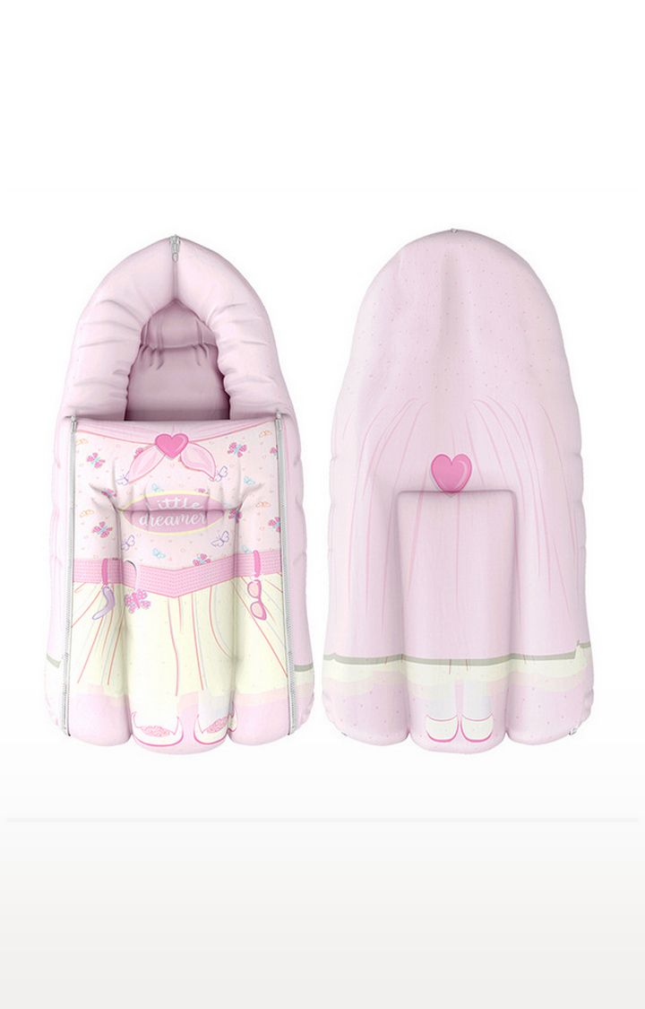 Mothercare | Fancy Fluff Organic Carry Nest - Little Dreamer